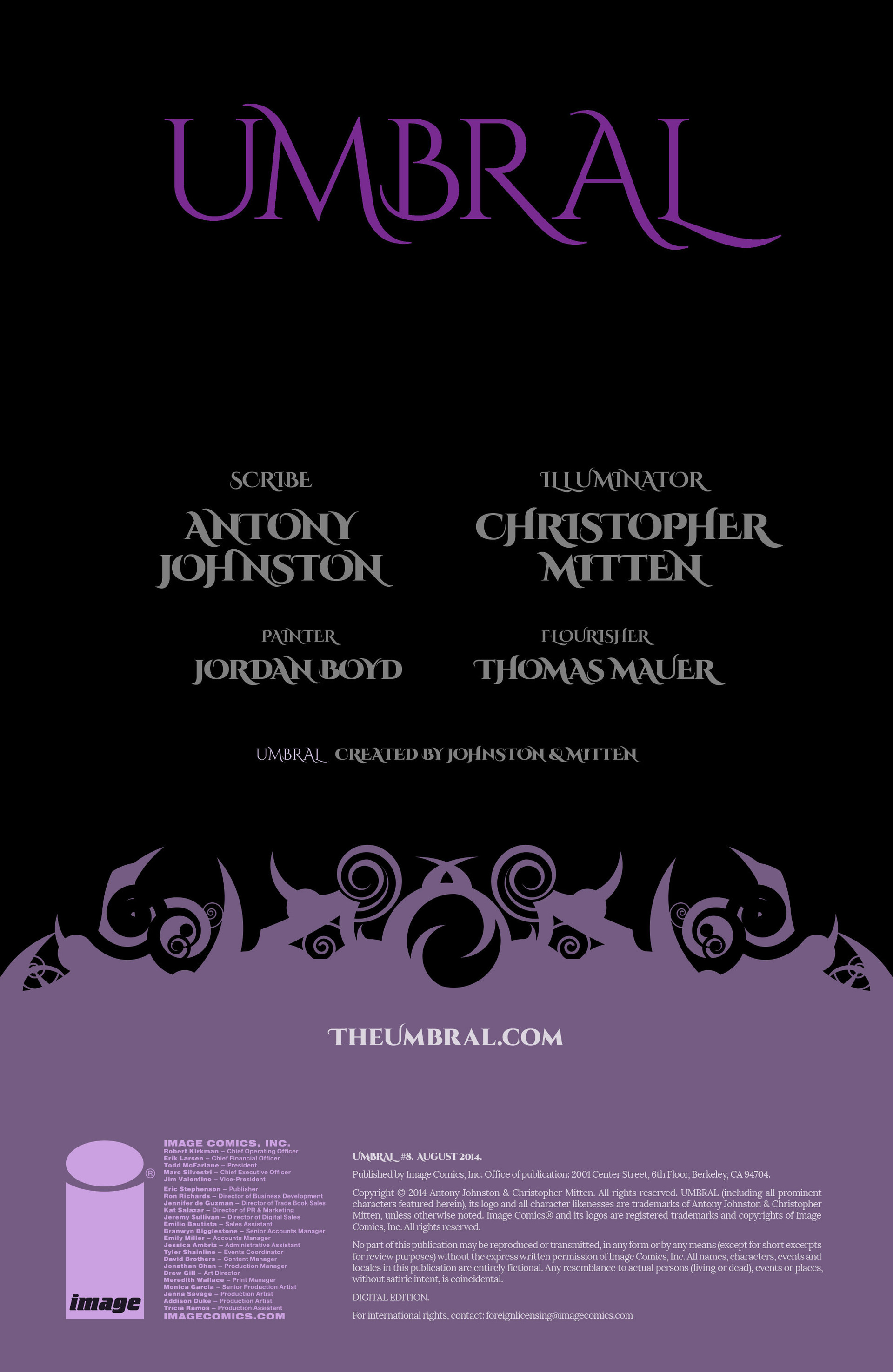 Read online Umbral comic -  Issue #8 - 2
