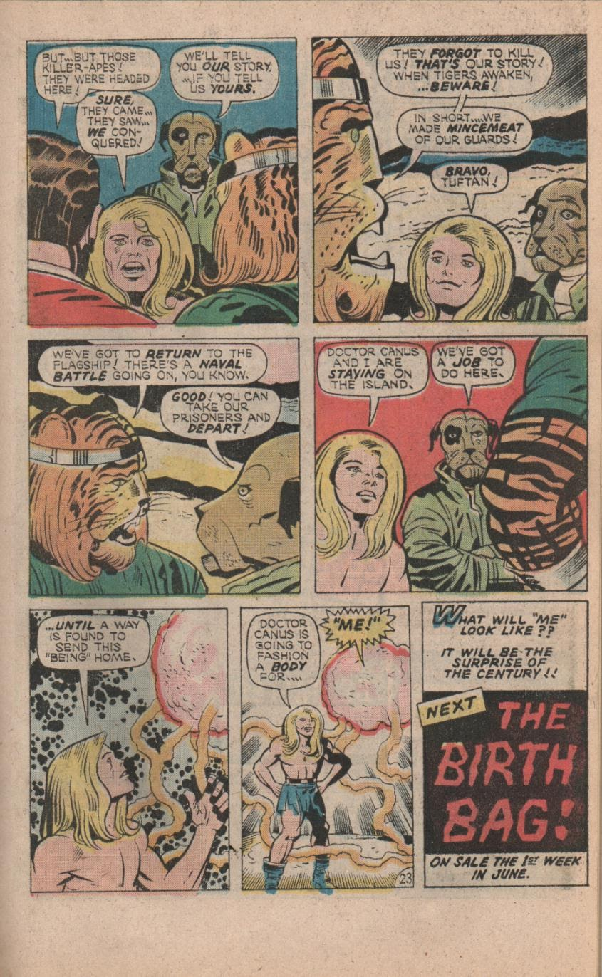 Kamandi, The Last Boy On Earth issue 32 - Page 25