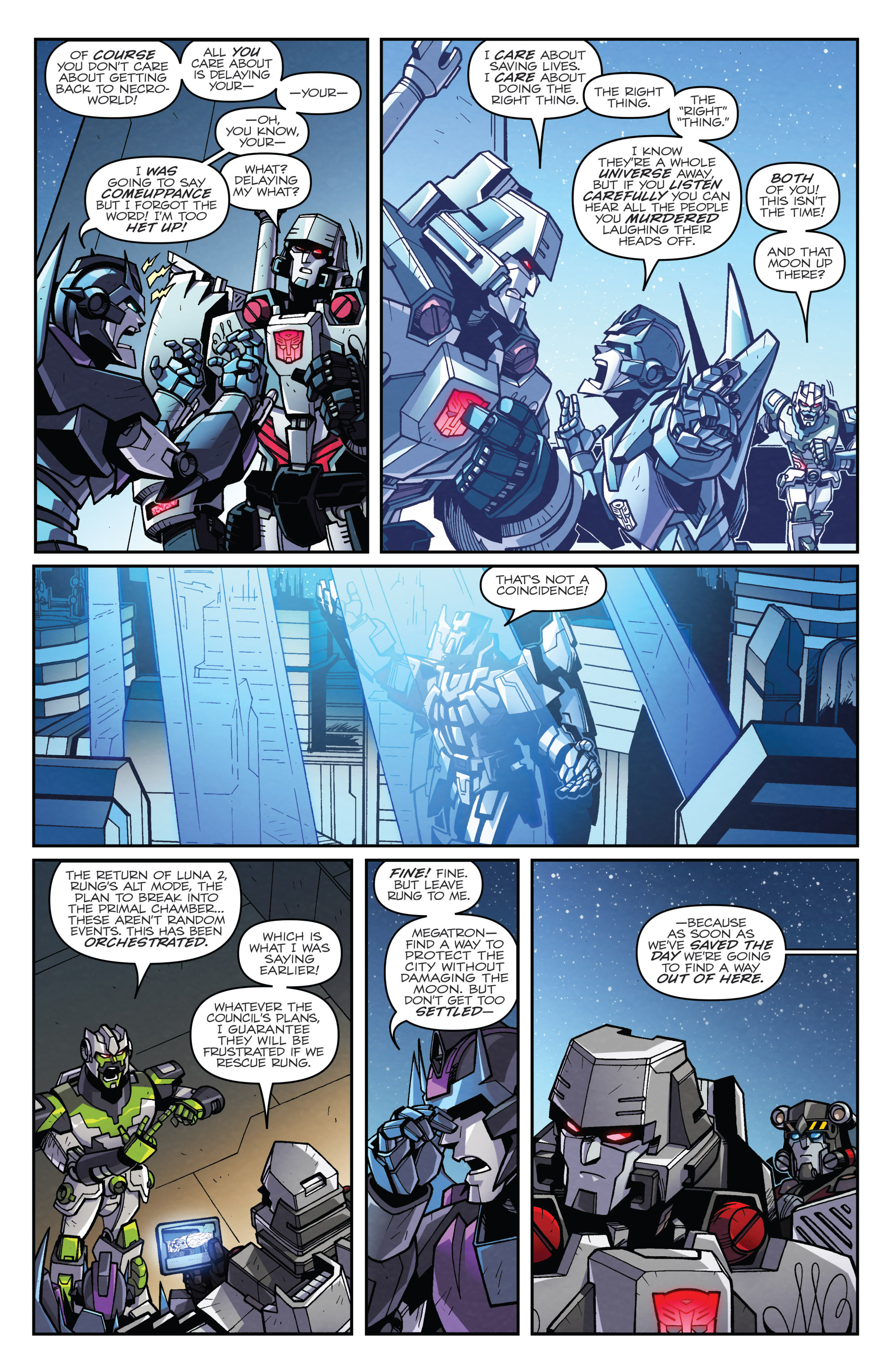 Read online Transformers: Lost Light comic -  Issue #4 - 10