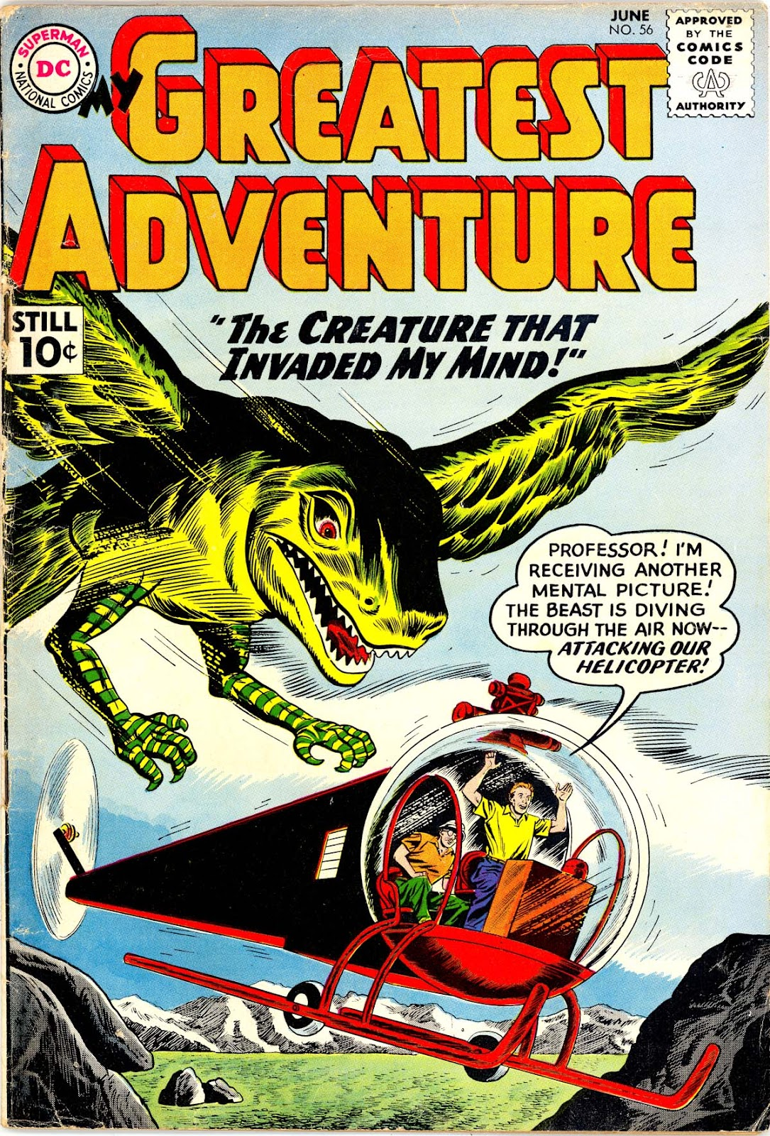 My Greatest Adventure (1955) 56 Page 1