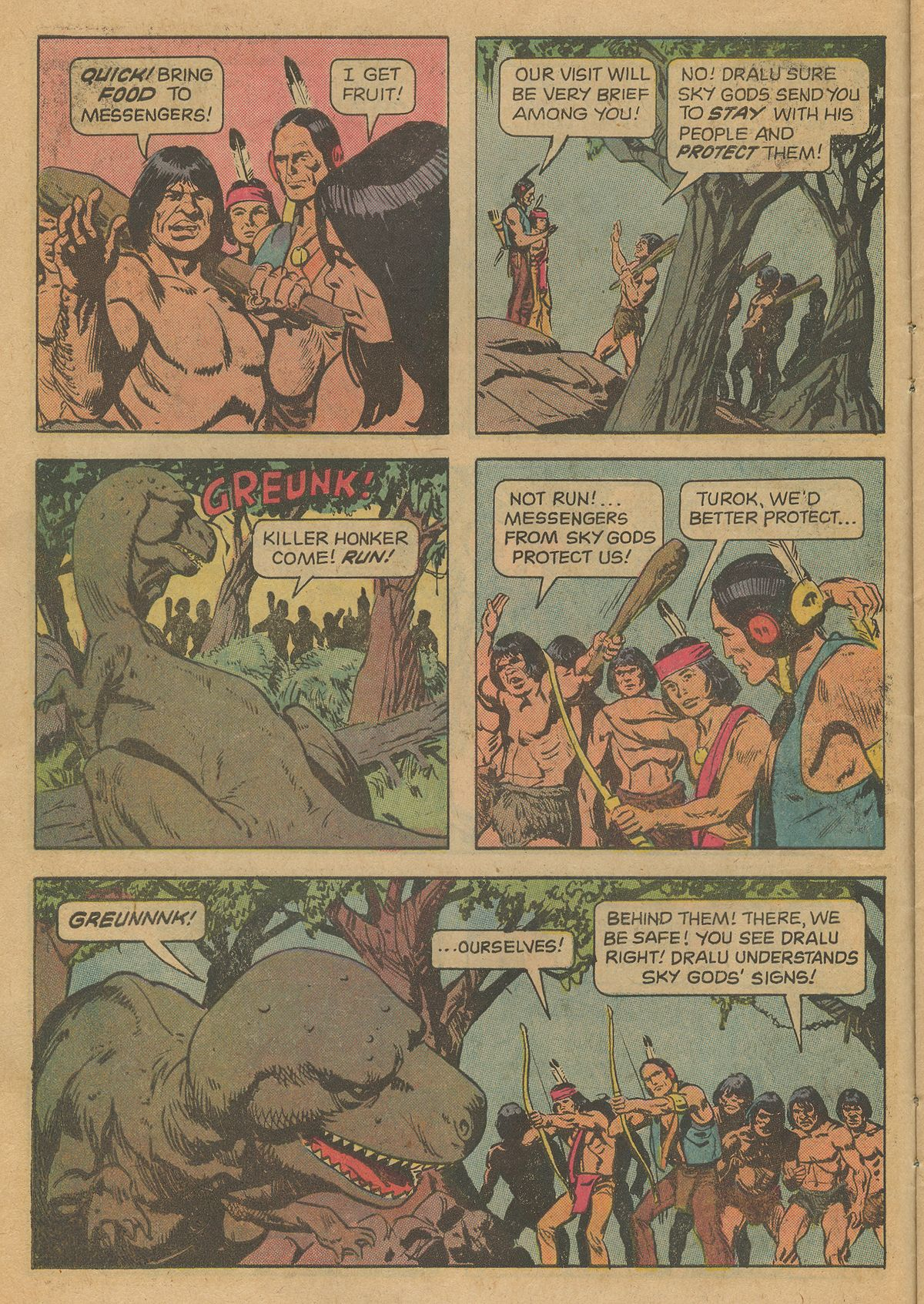 Read online Turok, Son of Stone comic -  Issue #126 - 10