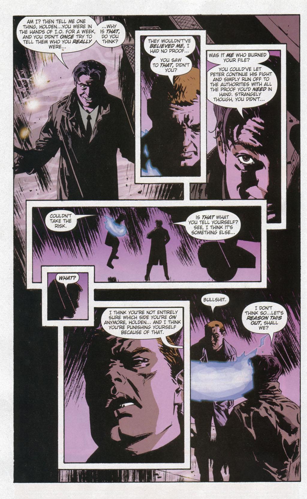 Read online Sleeper comic -  Issue #12 - 12
