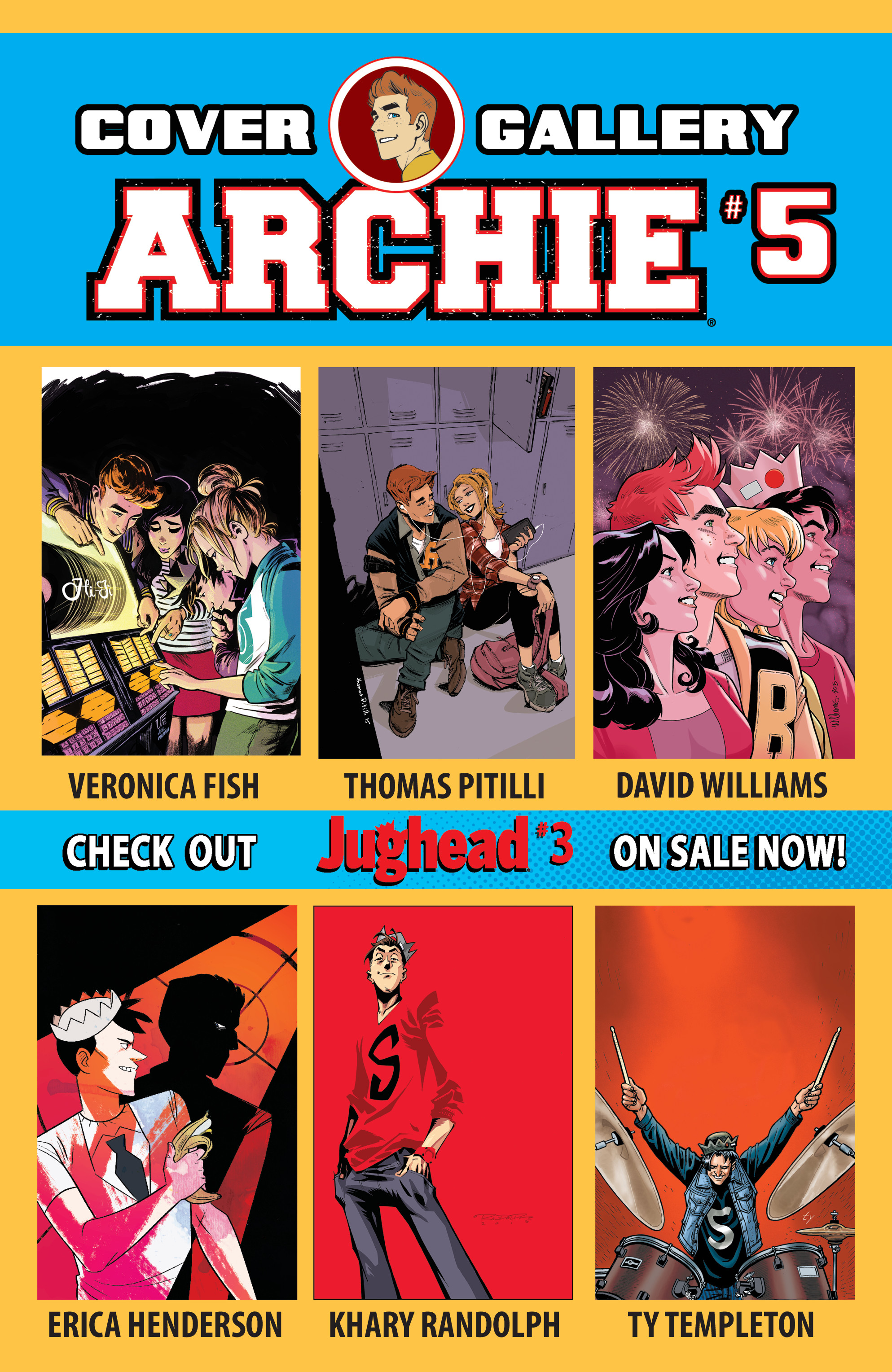 Read online Archie (2015) comic -  Issue #5 - 32