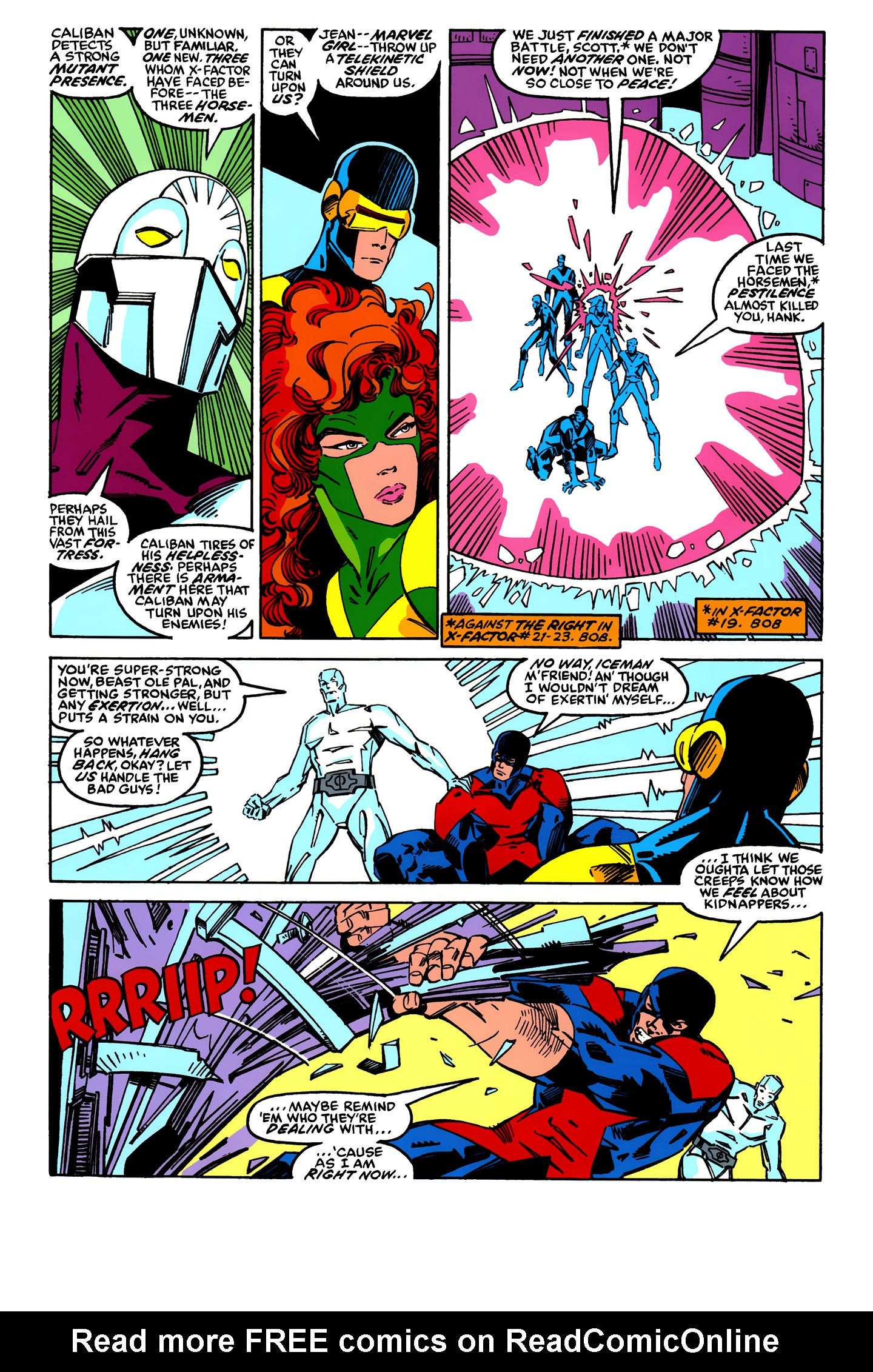 Read online X-Factor (1986) comic -  Issue #24 - 3