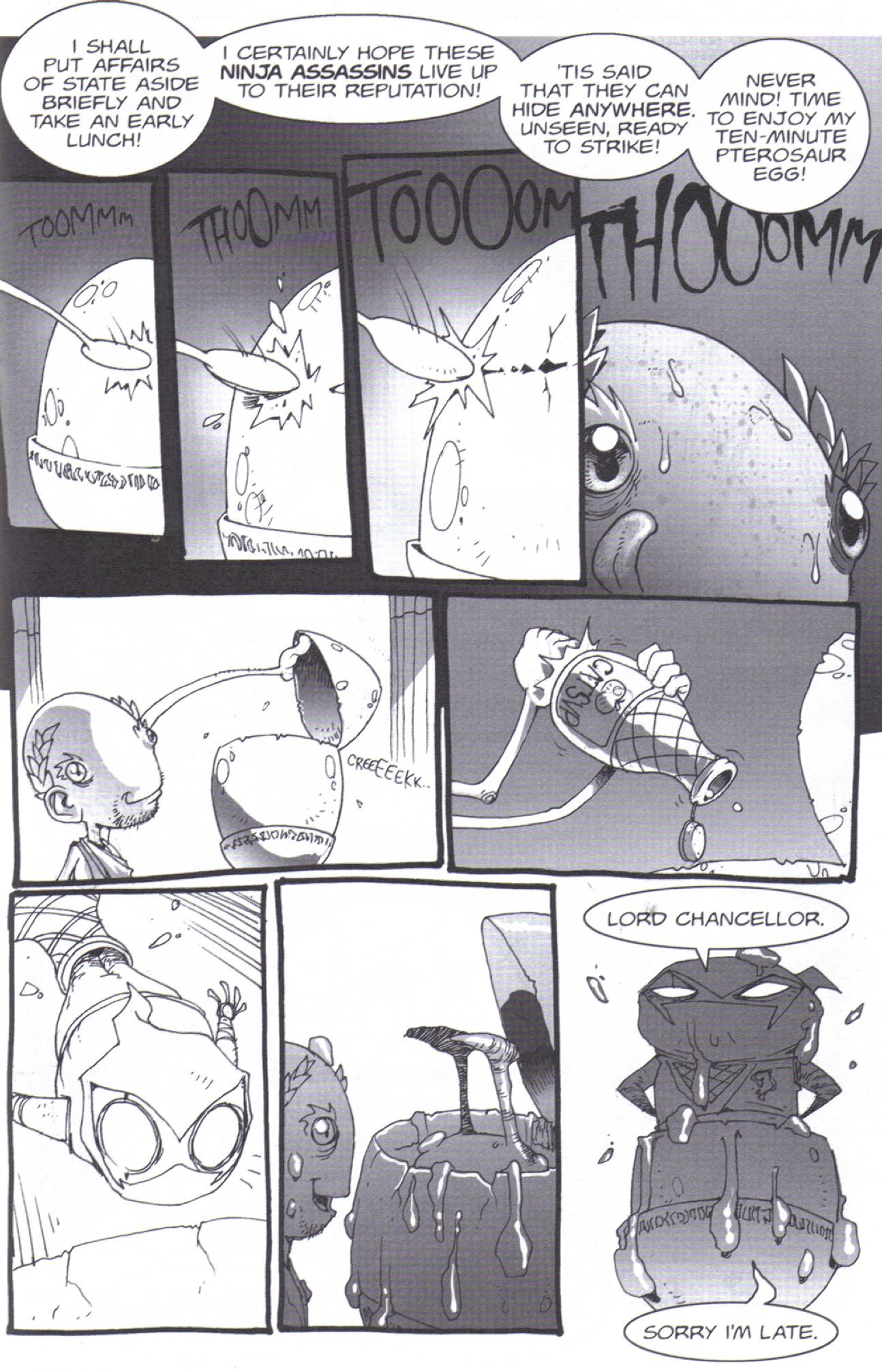 Read online Pirates vs. Ninjas: Global Harming comic -  Issue # Full - 5