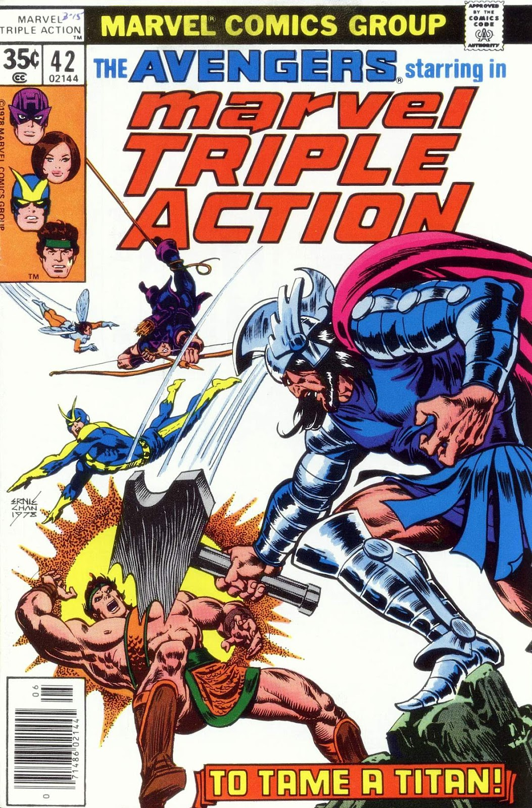 Marvel Triple Action (1972) issue 42 - Page 1