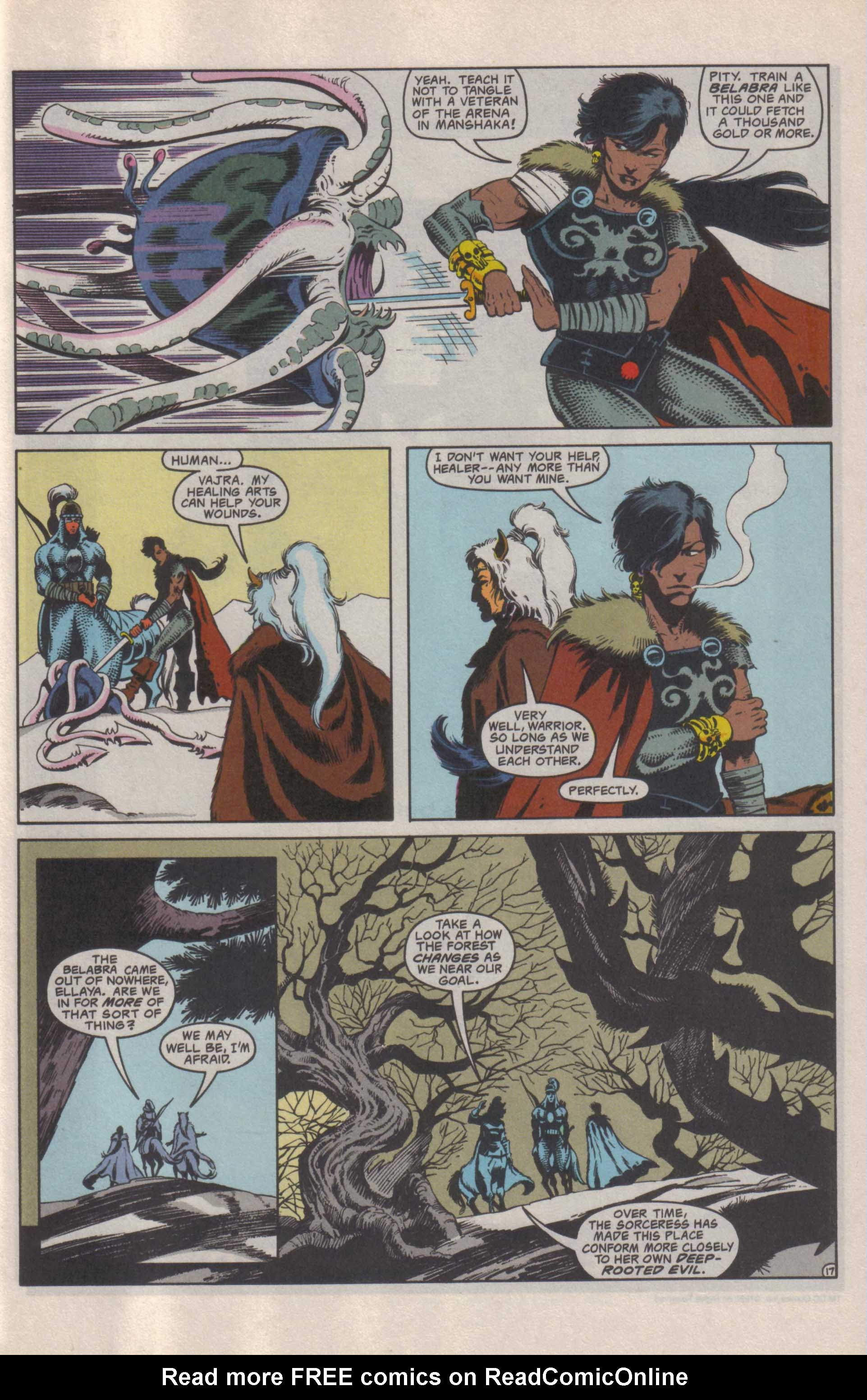 Read online Advanced Dungeons & Dragons comic -  Issue #25 - 18