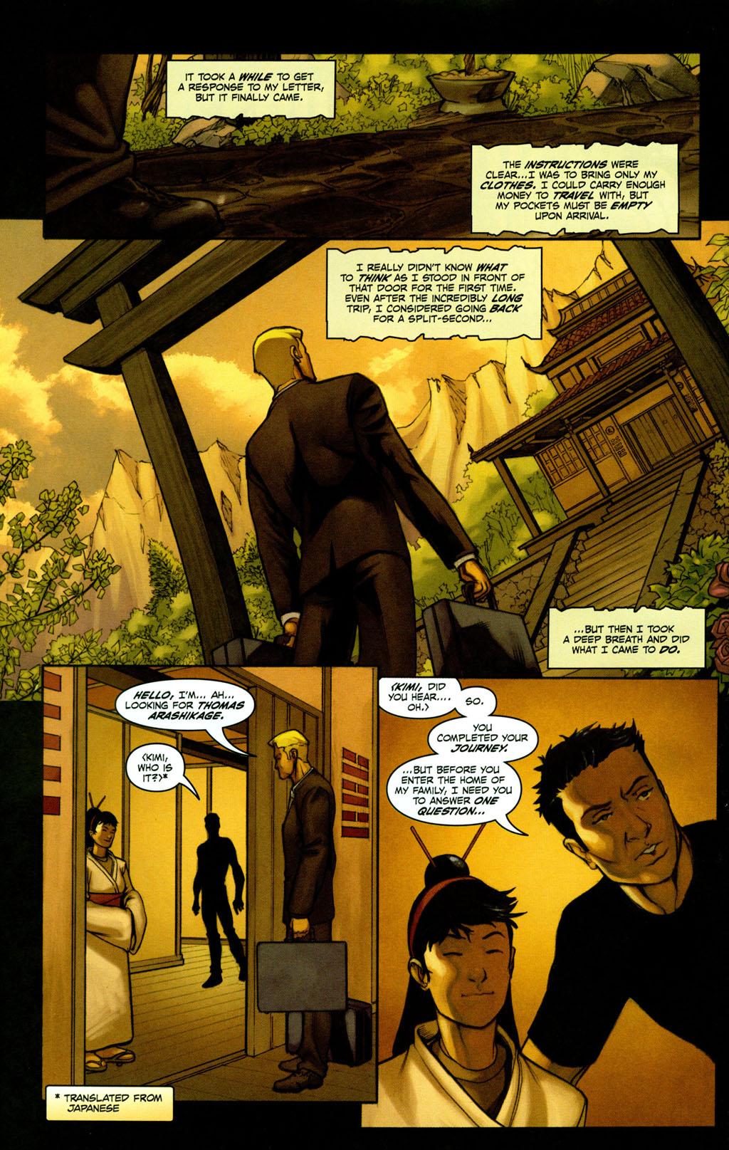Read online Snake Eyes: Declassified comic -  Issue #2 - 22