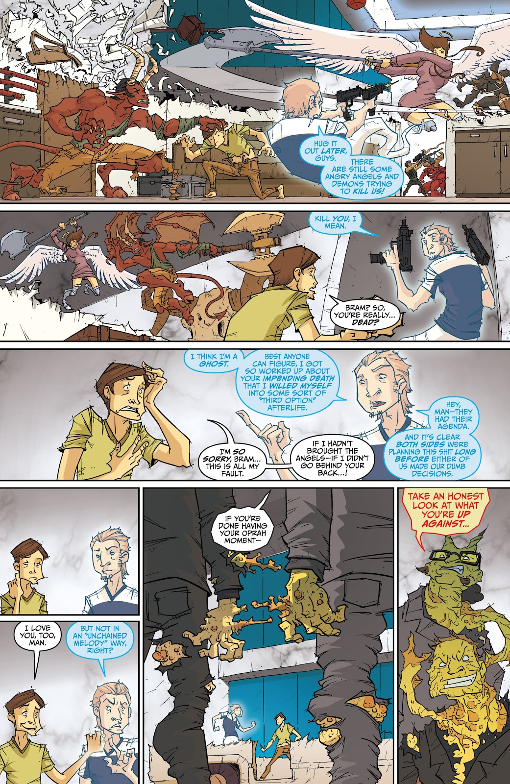 Read online The End Times of Bram and Ben comic -  Issue #4 - 19