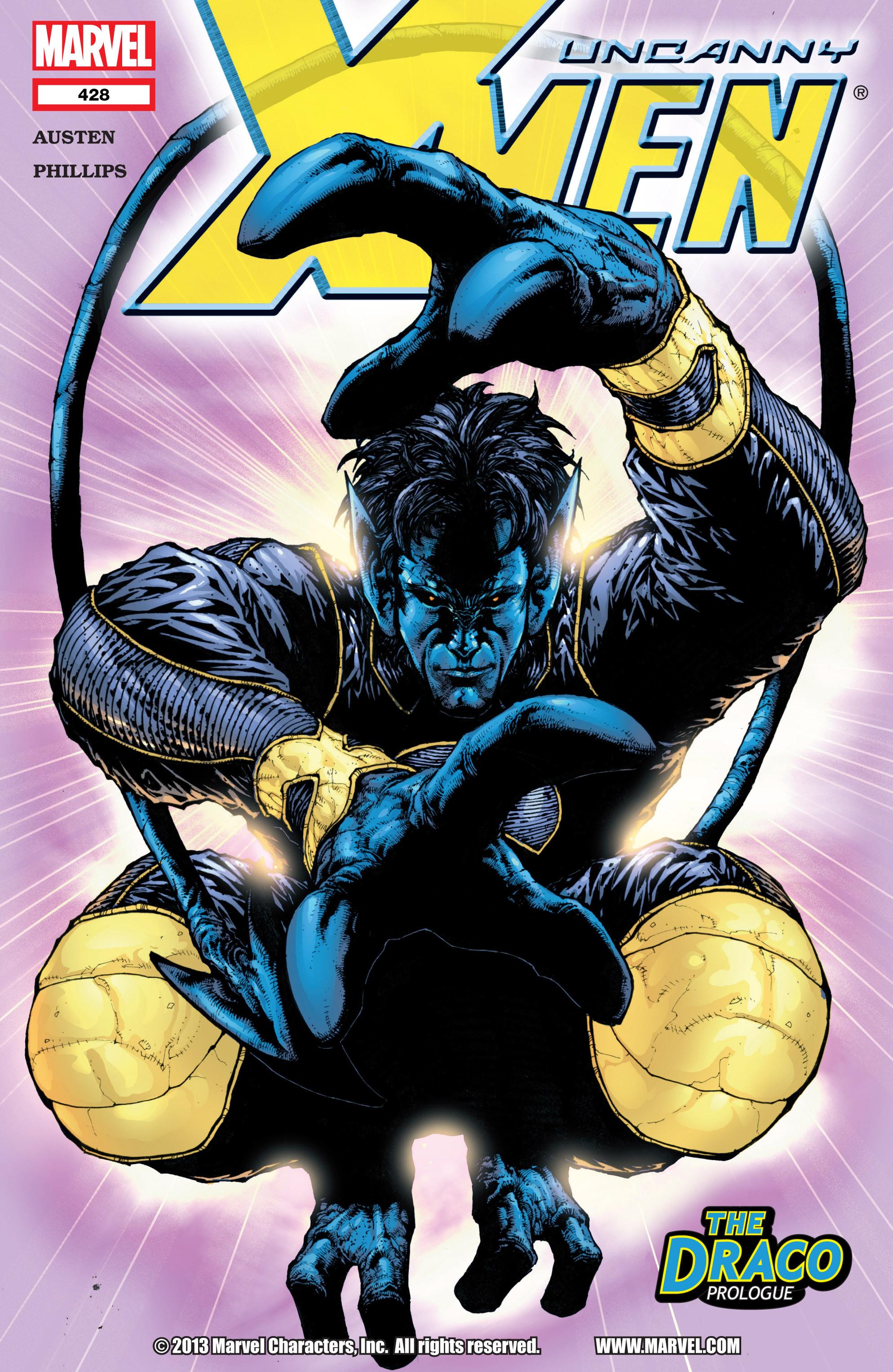 Read online Uncanny X-Men (1963) comic -  Issue #428 - 1