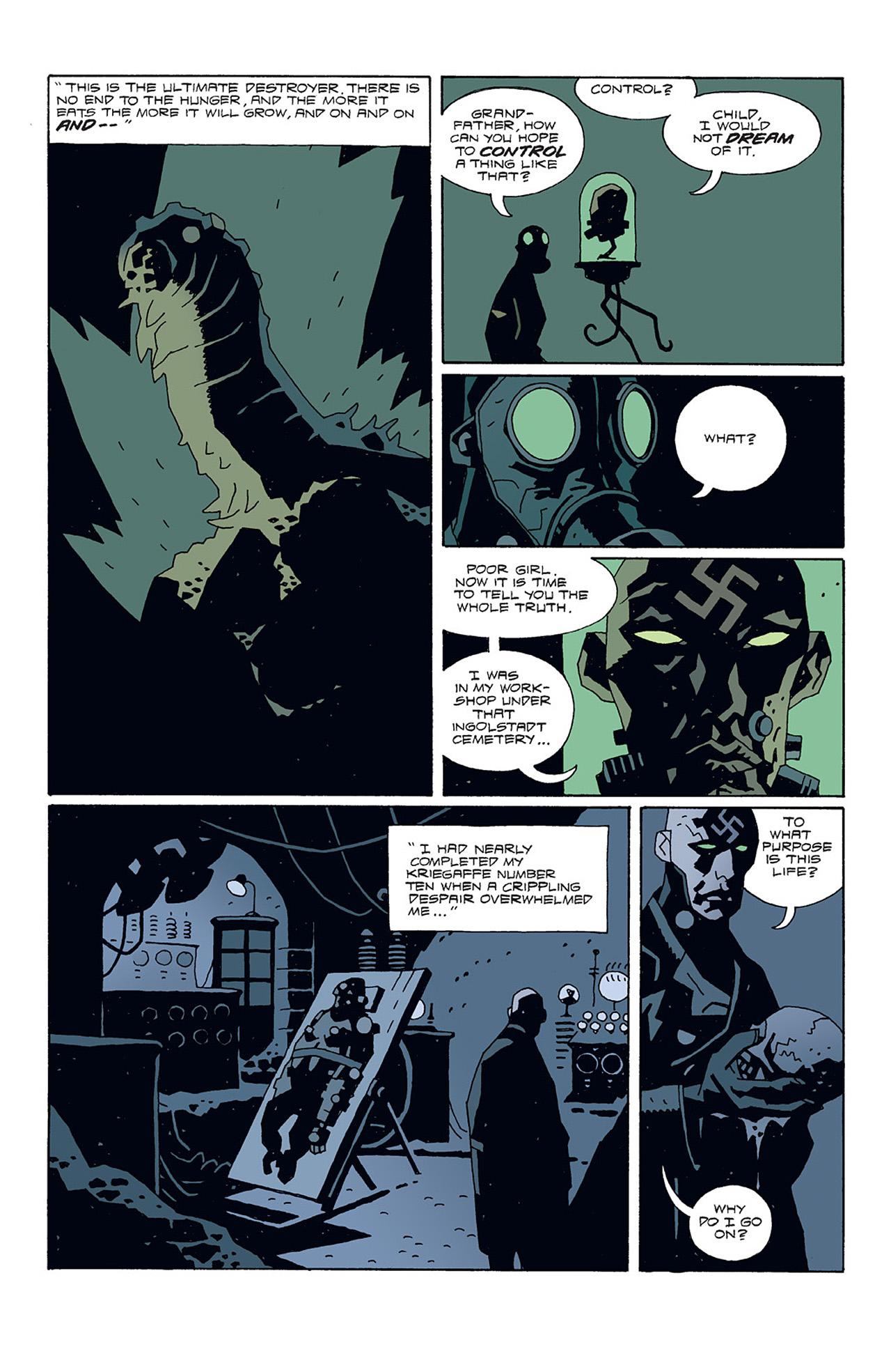 Read online Hellboy: Conqueror Worm comic -  Issue #3 - 25