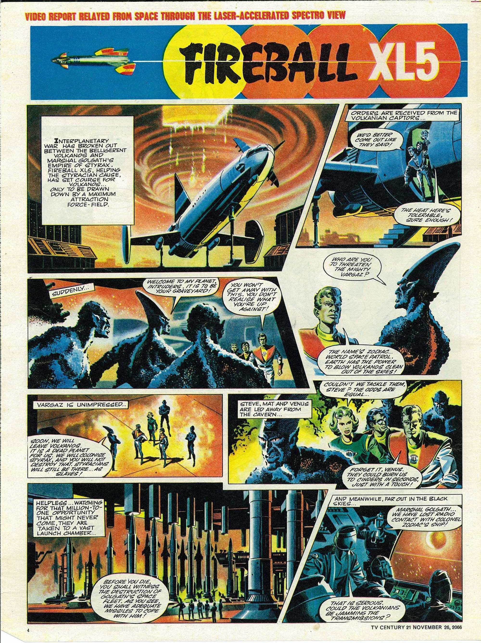 Read online TV Century 21 (TV 21) comic -  Issue #97 - 4