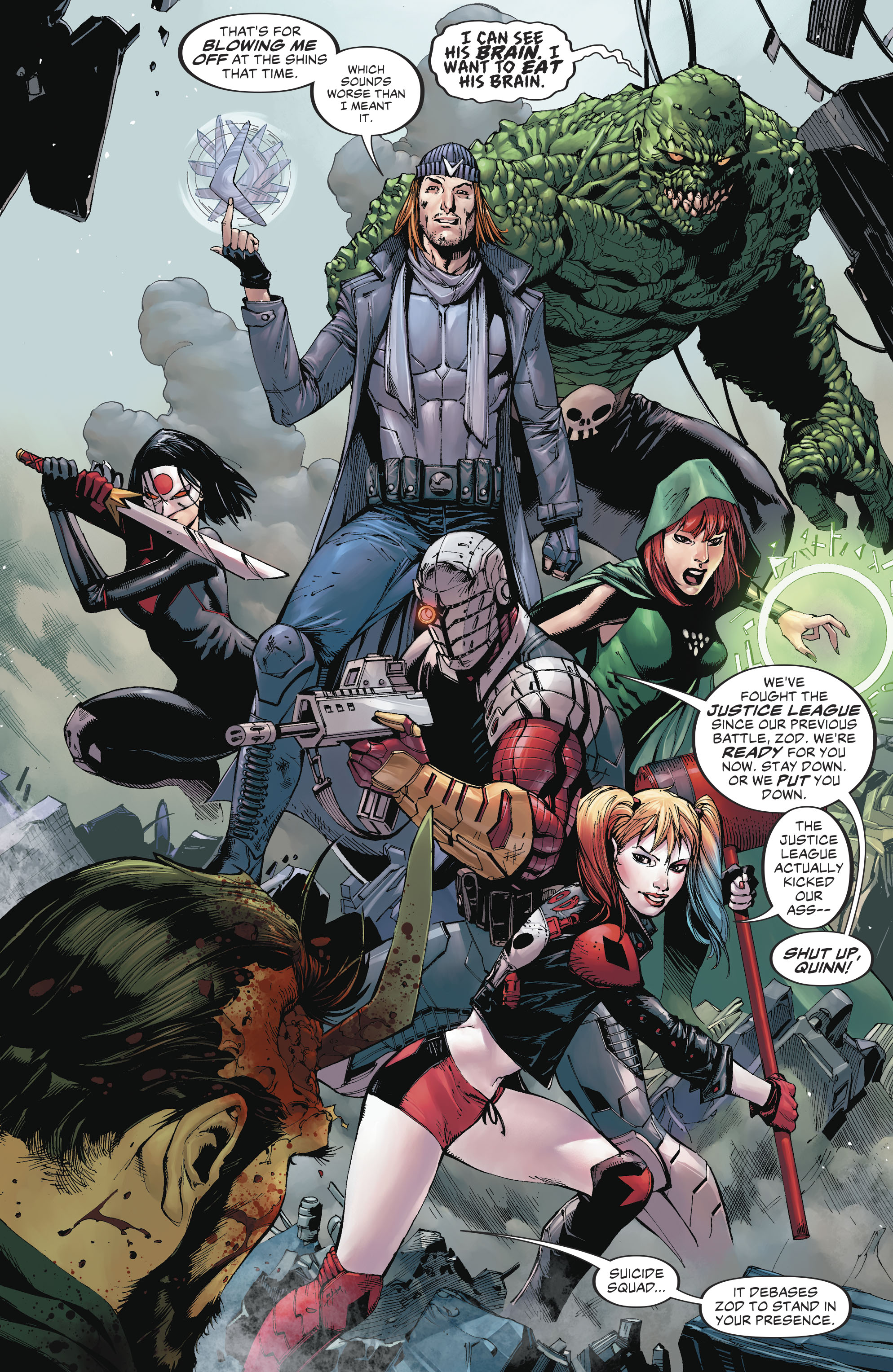 Read online Suicide Squad (2016) comic -  Issue #18 - 13