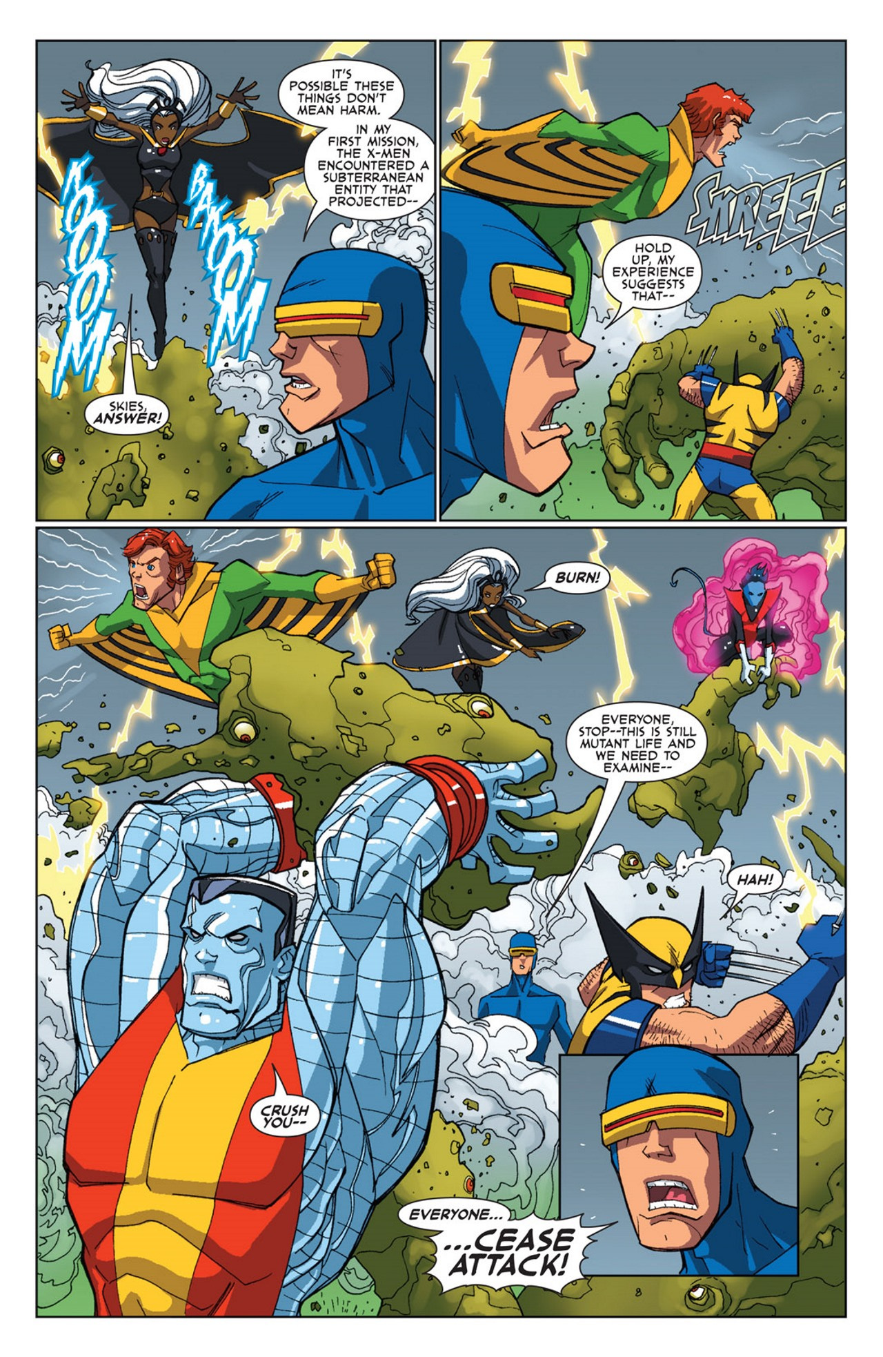 Read online Uncanny X-Men: First Class Giant-Size Special comic -  Issue # Full - 13
