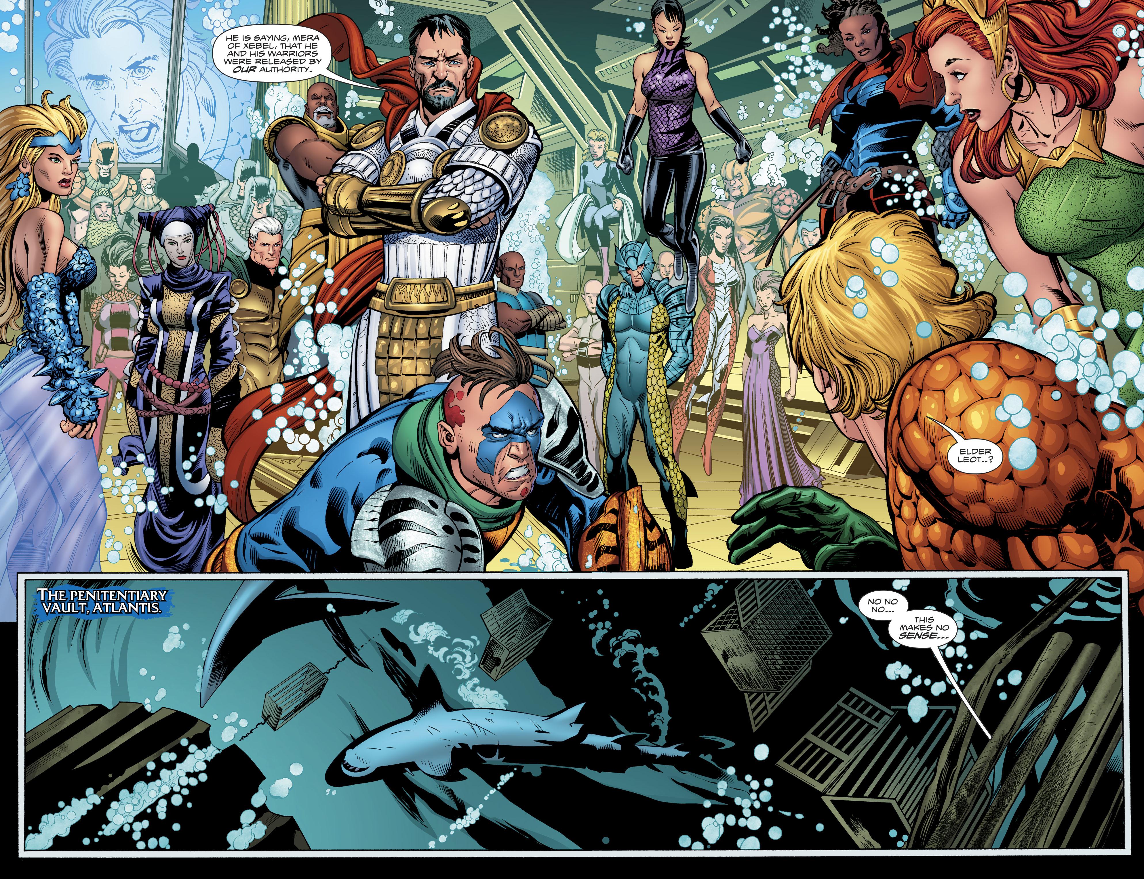 Read online Aquaman (2016) comic -  Issue #23 - 13