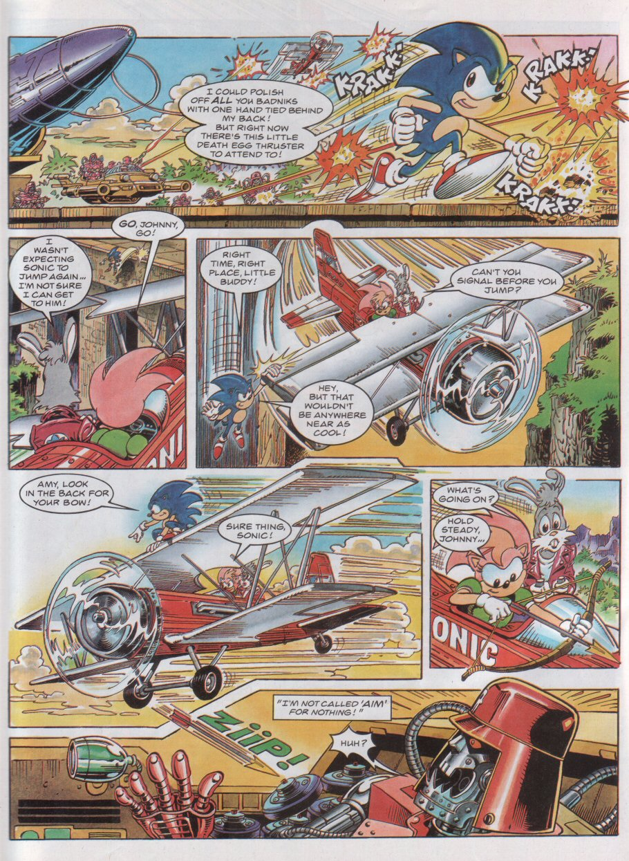 Read online Sonic the Comic comic -  Issue #44 - 7