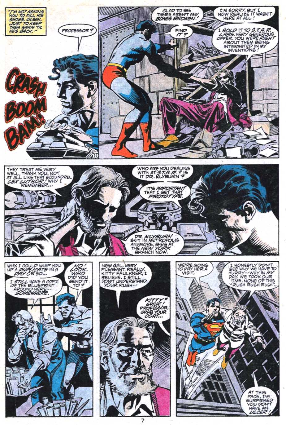 Read online Adventures of Superman (1987) comic -  Issue #450 - 8