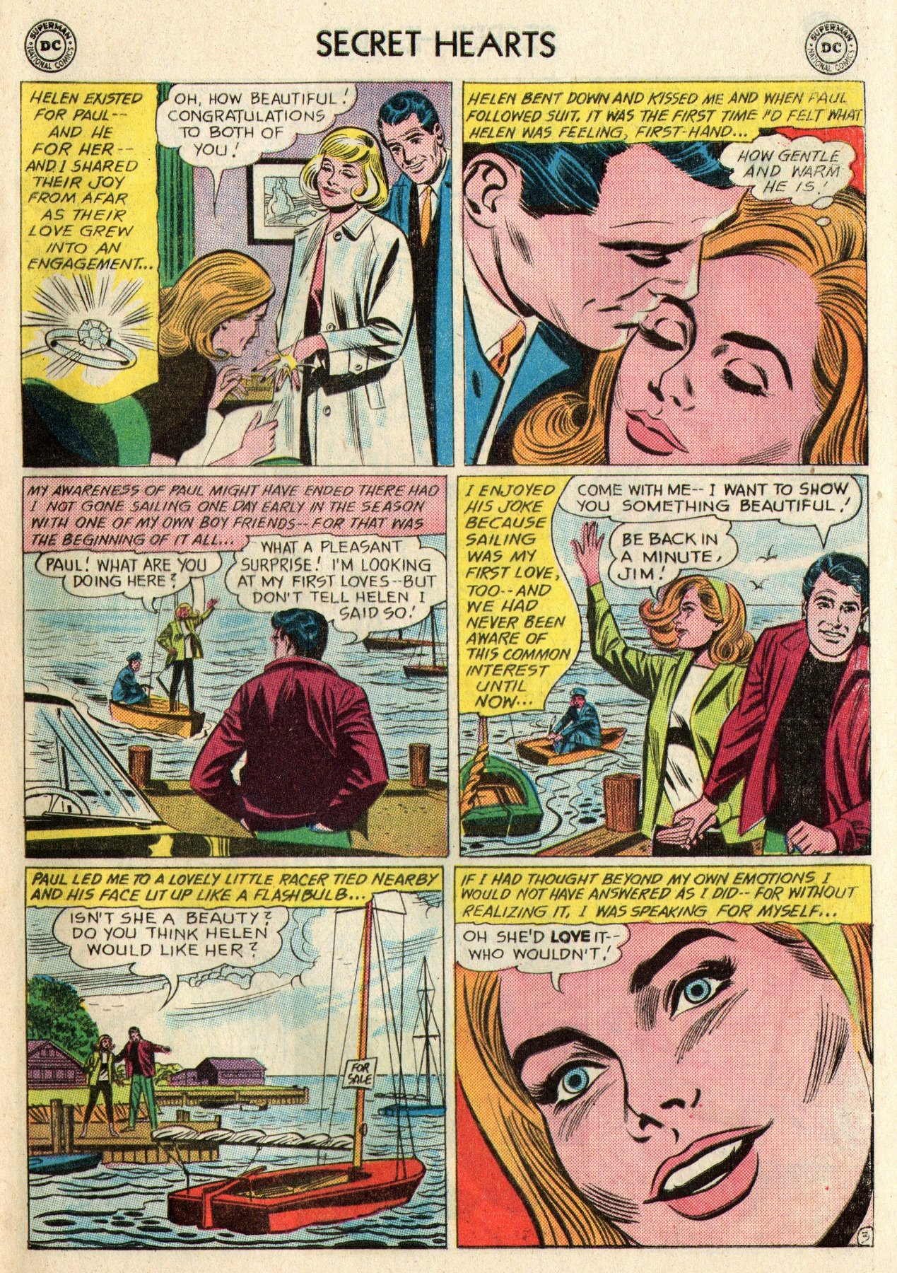 Read online Secret Hearts comic -  Issue #95 - 5