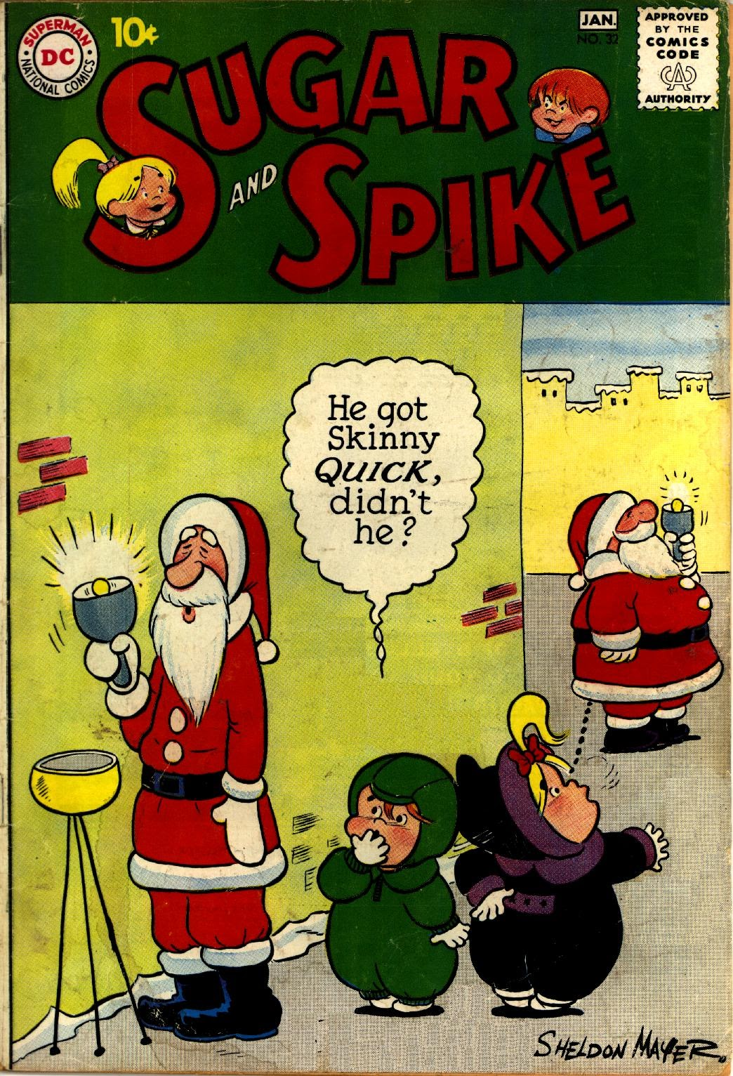 Sugar and Spike 32 Page 1