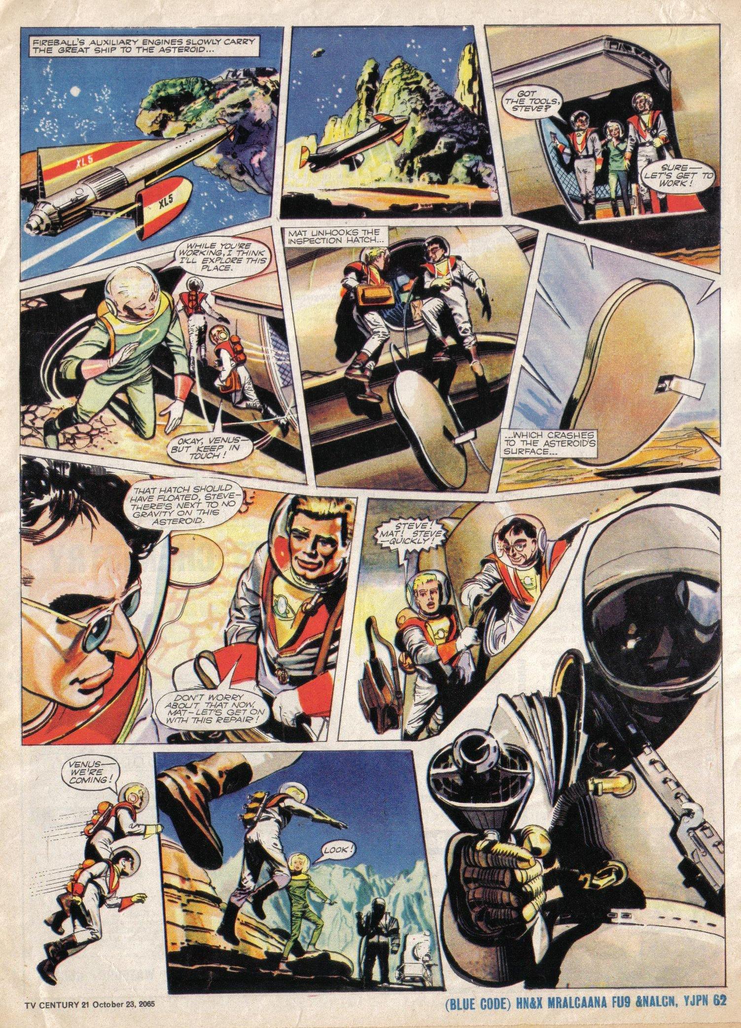 Read online TV Century 21 (TV 21) comic -  Issue #40 - 5