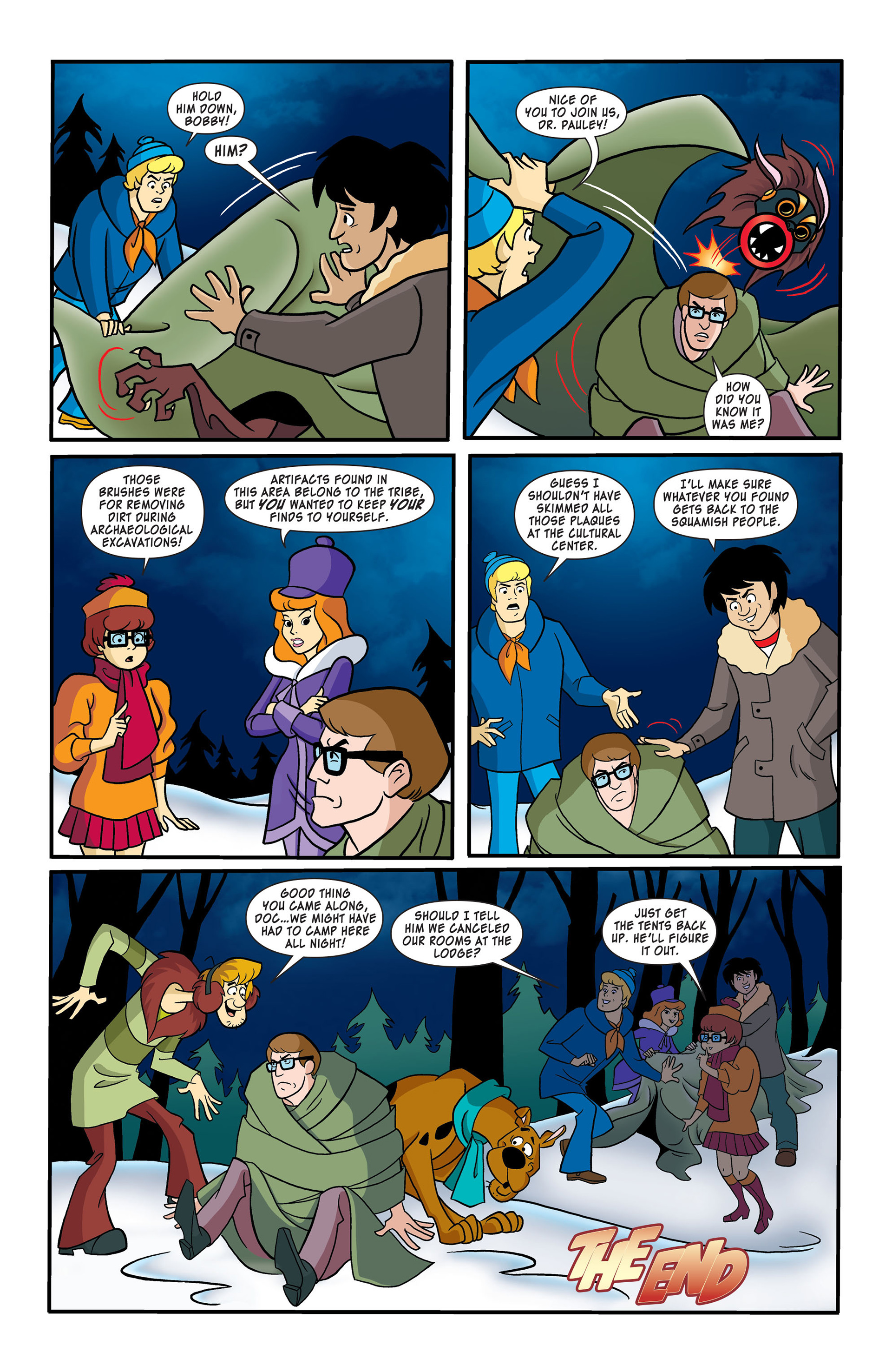 Read online Scooby-Doo: Where Are You? comic -  Issue #50 - 11