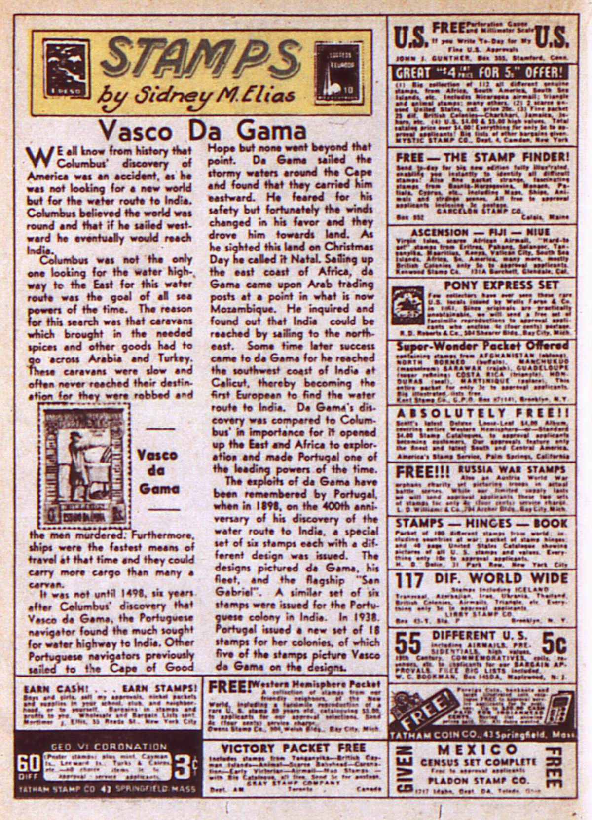 Read online Adventure Comics (1938) comic -  Issue #85 - 36