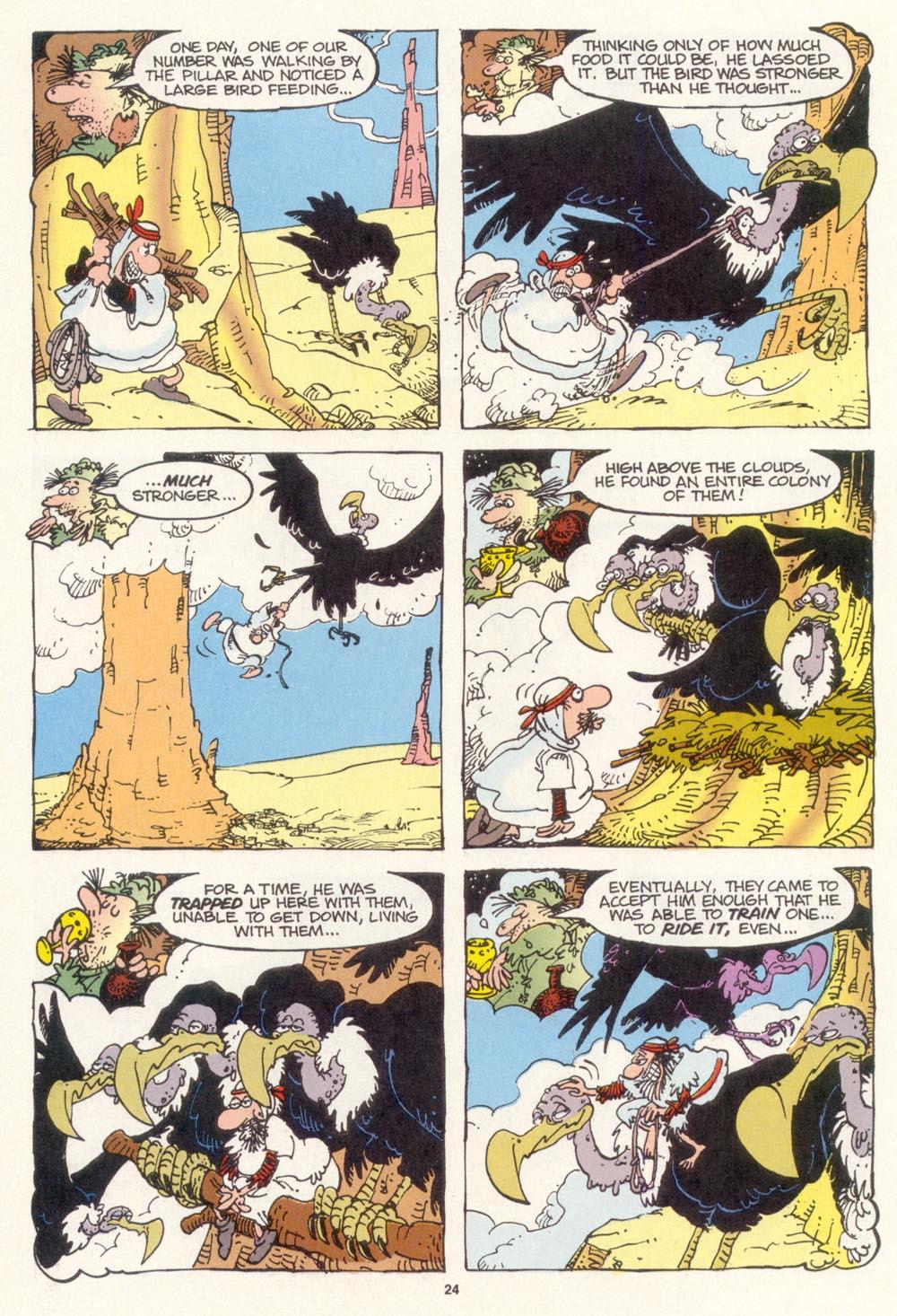 Read online Sergio Aragonés Groo the Wanderer comic -  Issue #114 - 26