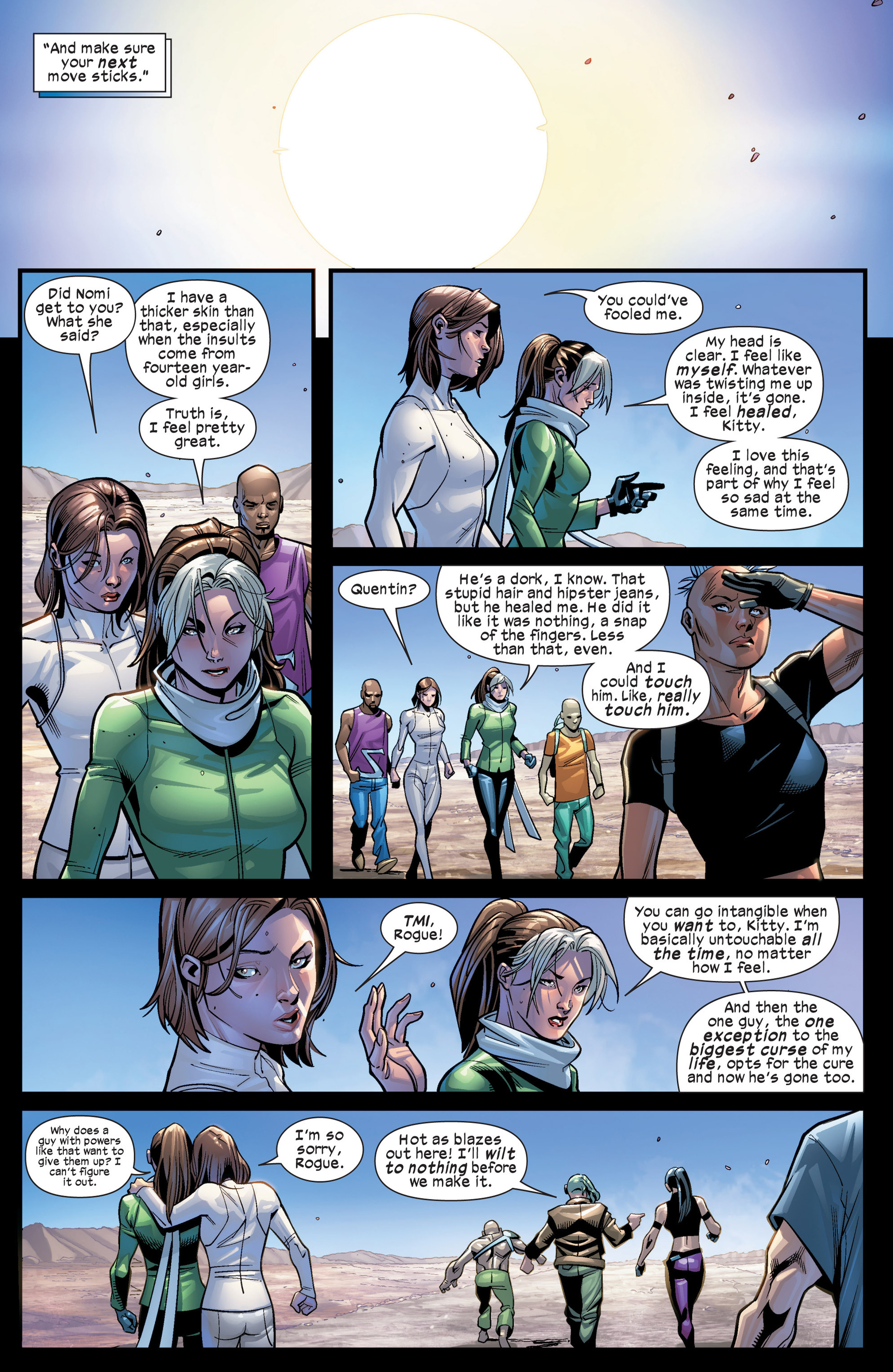 Read online Ultimate Comics X-Men comic -  Issue #19 - 11