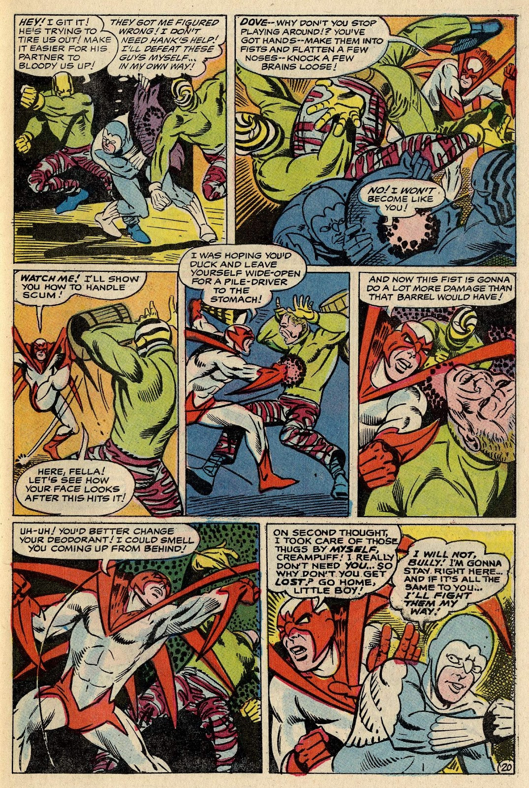 The Hawk and the Dove issue 1 - Page 26