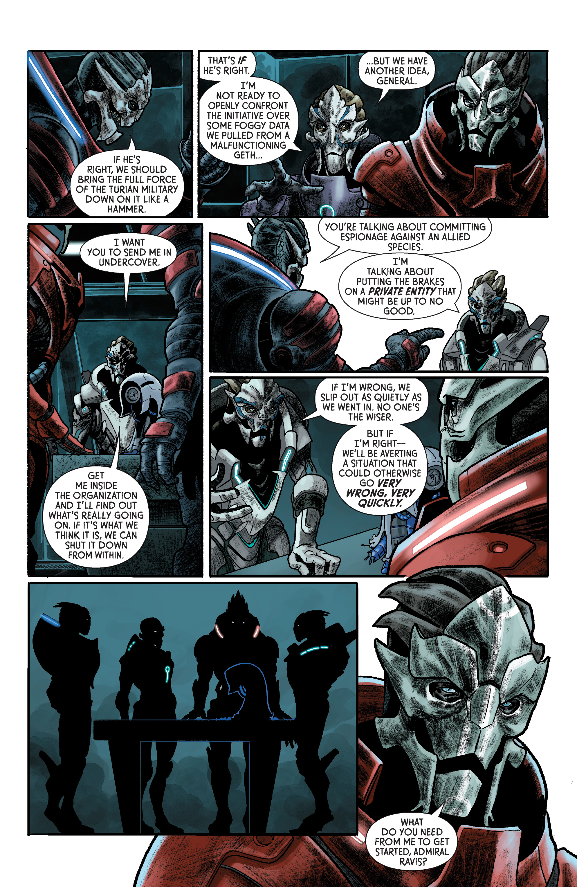 Read online Mass Effect: Discovery comic -  Issue #1 - 11