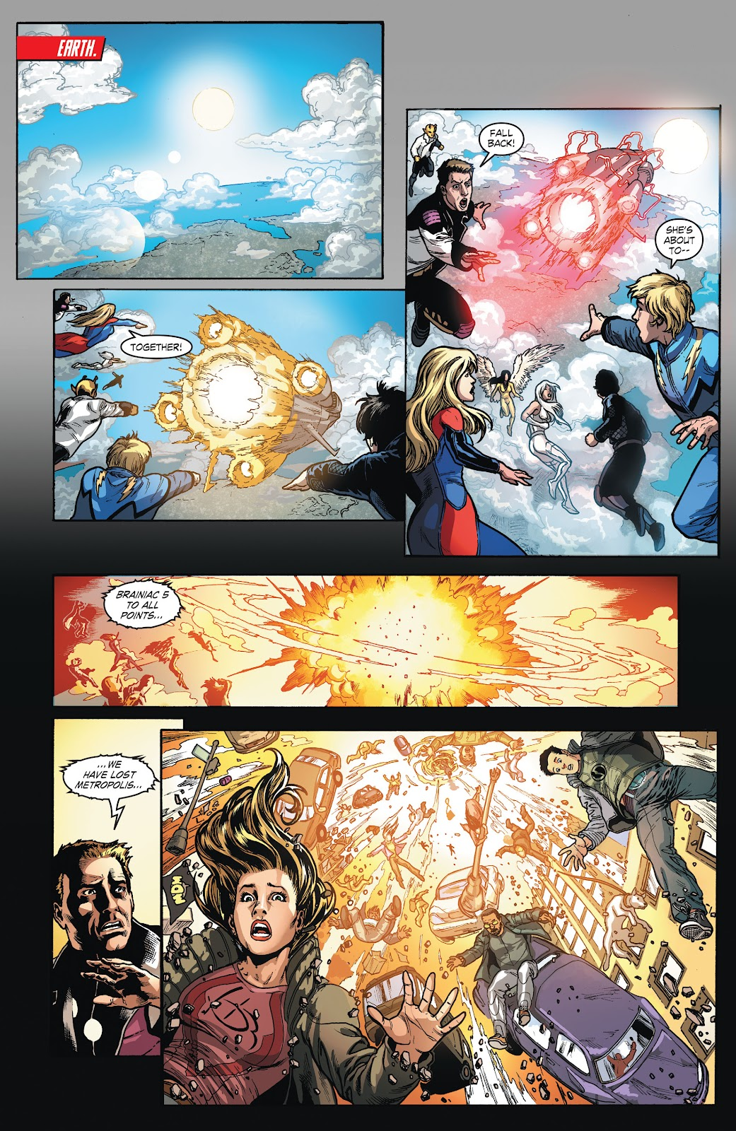 Read online Smallville Season 11 [II] comic -  Issue # TPB 4 - 90