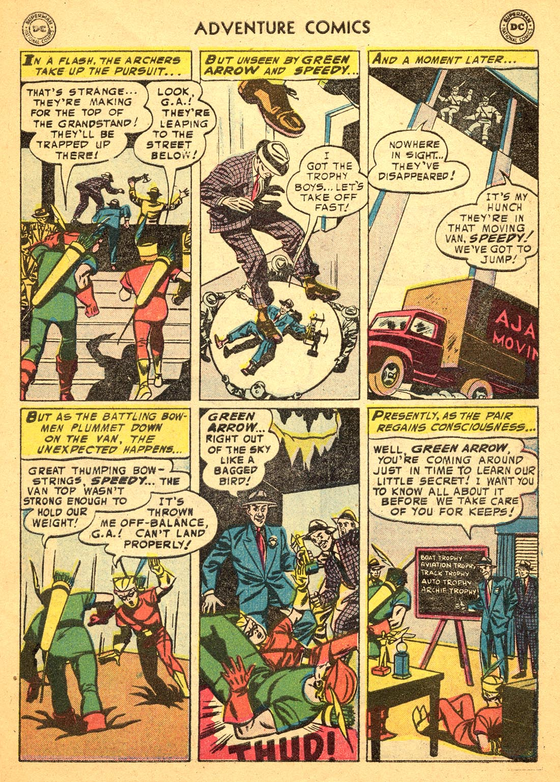 Read online Adventure Comics (1938) comic -  Issue #217 - 31