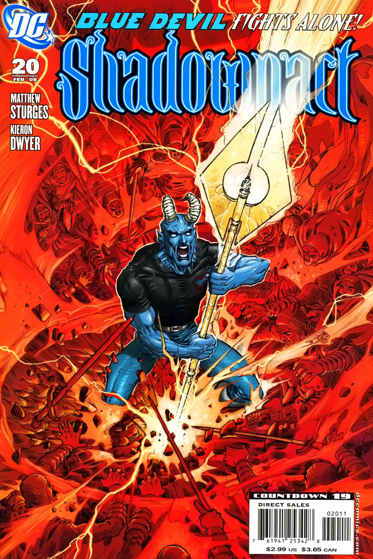 Read online Shadowpact comic -  Issue #20 - 1