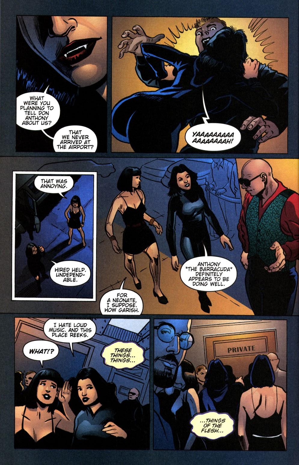 Read online Vampire the Masquerade comic -  Issue # Giovanni - 20