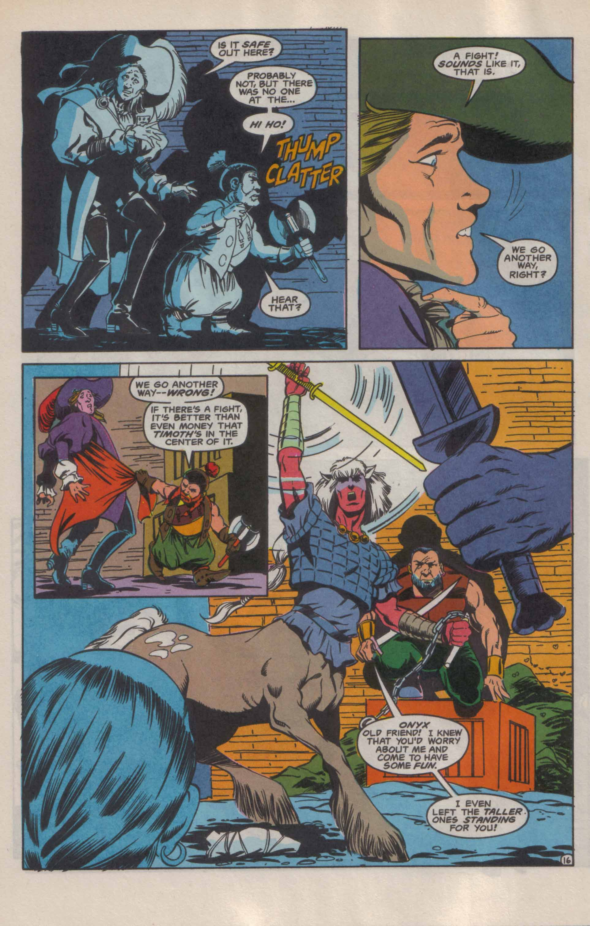 Read online Advanced Dungeons & Dragons comic -  Issue #9 - 17