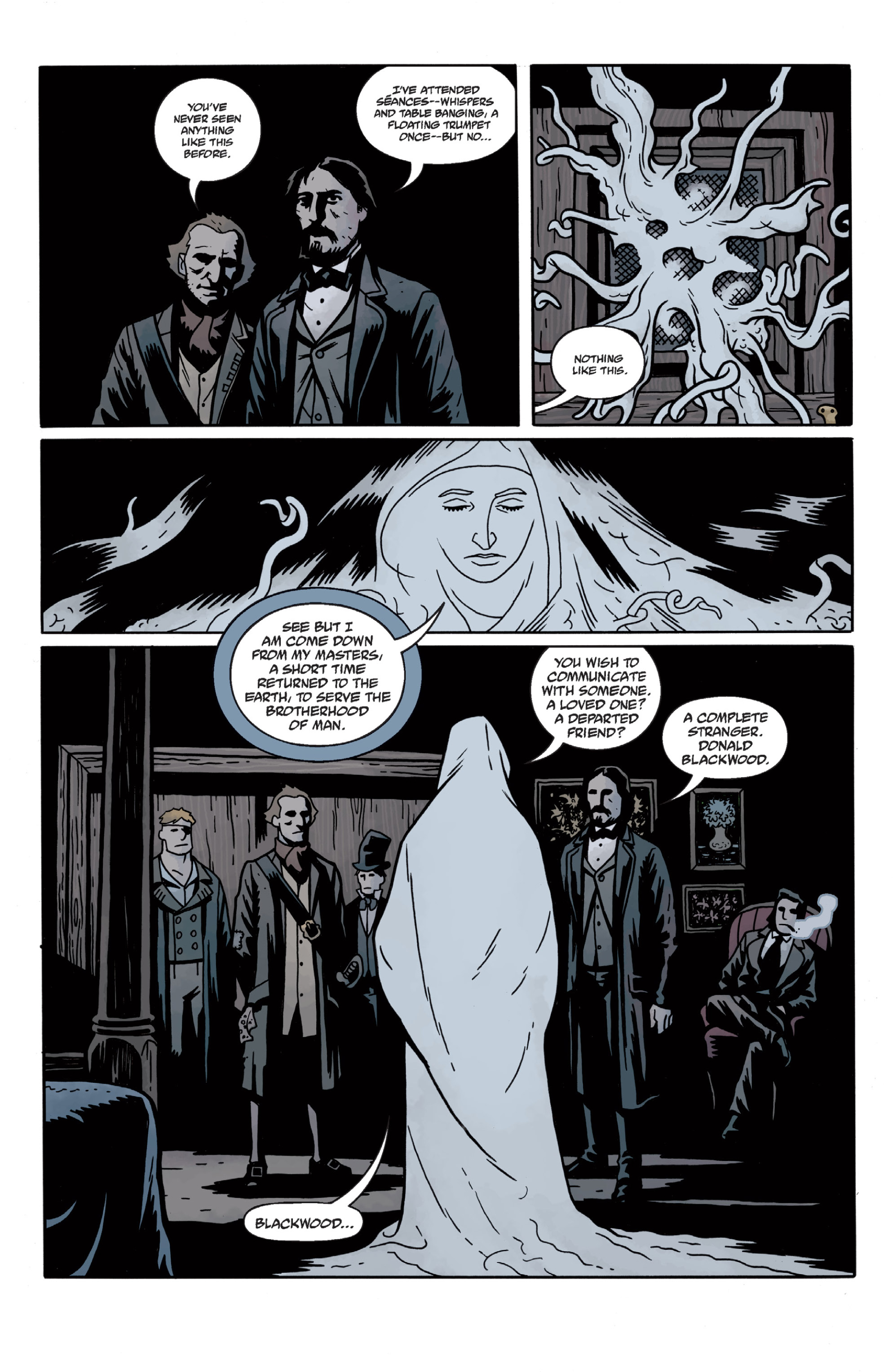 Read online Sir Edward Grey, Witchfinder: In the Service of Angels comic -  Issue # TPB - 44