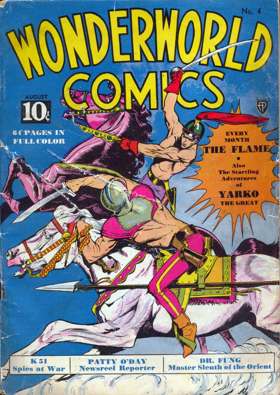 Wonderworld Comics issue 4 - Page 1
