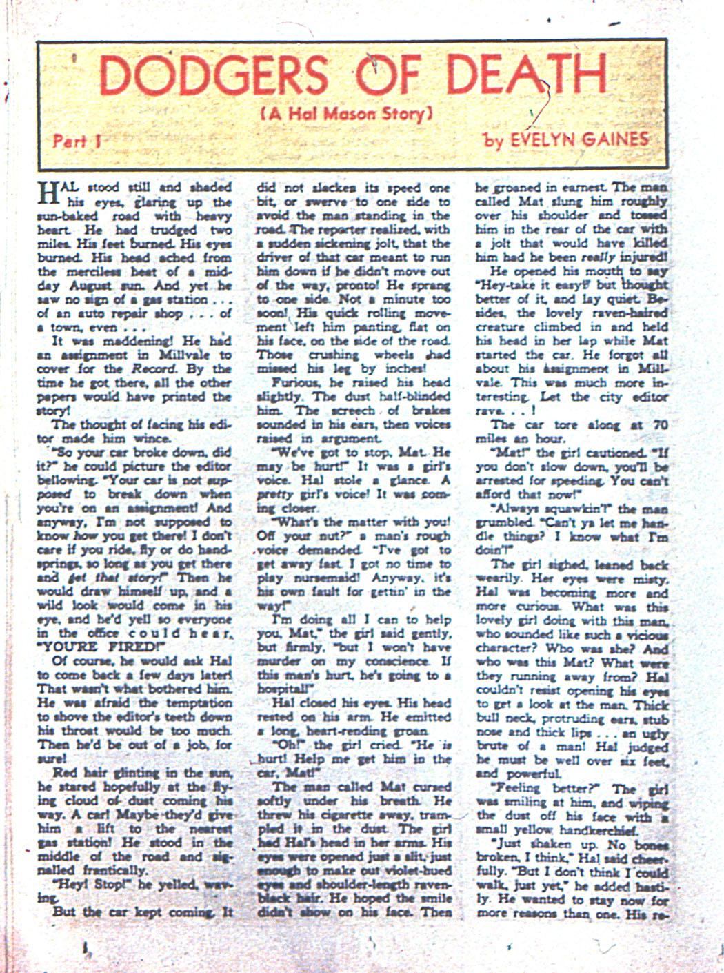 Read online Sensation (Mystery) Comics comic -  Issue #6 - 46