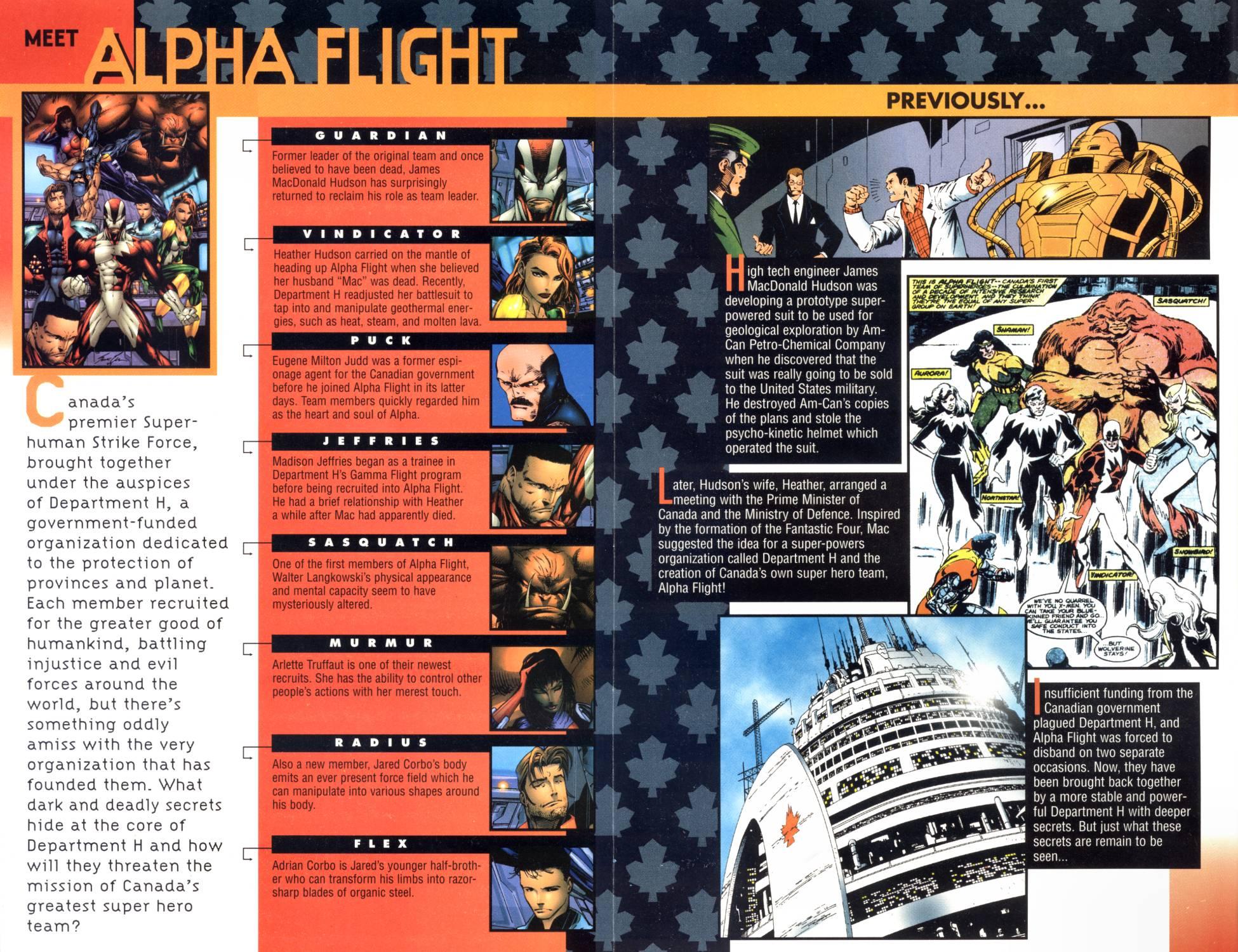 Read online Alpha Flight (1997) comic -  Issue #1 - 2