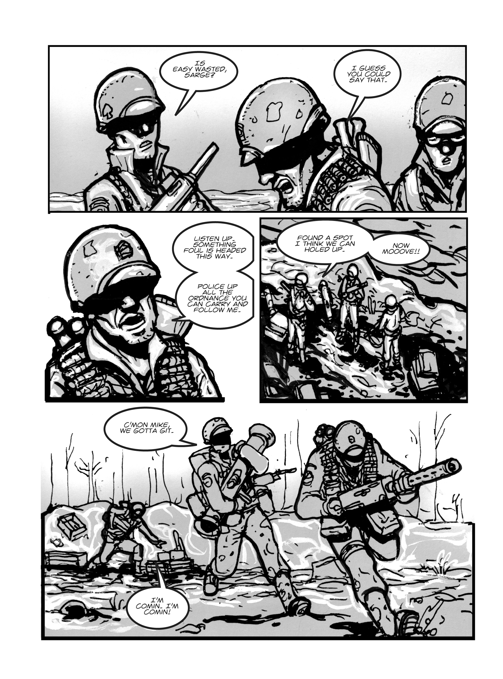Read online FUBAR comic -  Issue #1 - 36