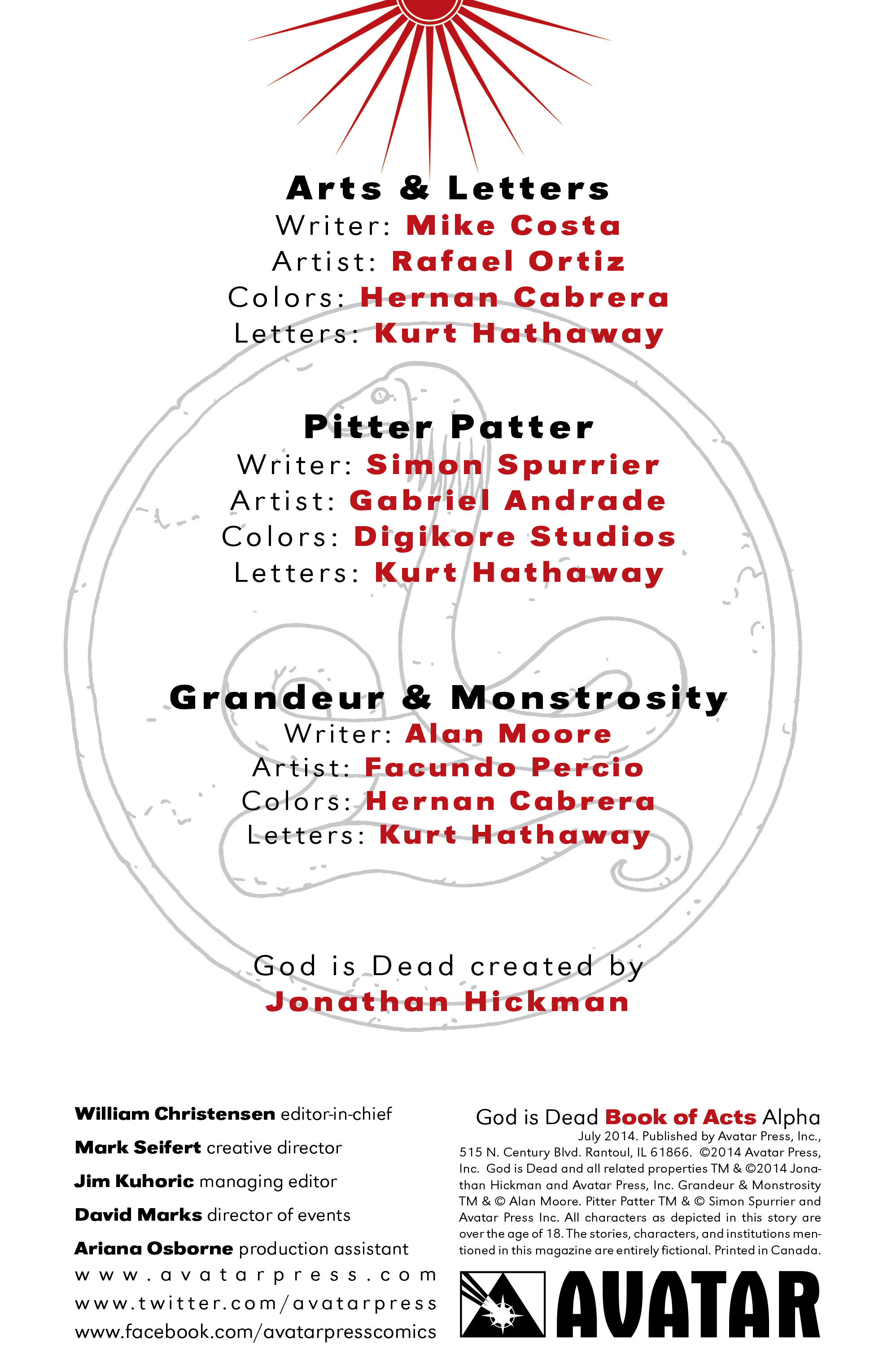 Read online God is Dead: Book of Acts comic -  Issue # Alpha - 9
