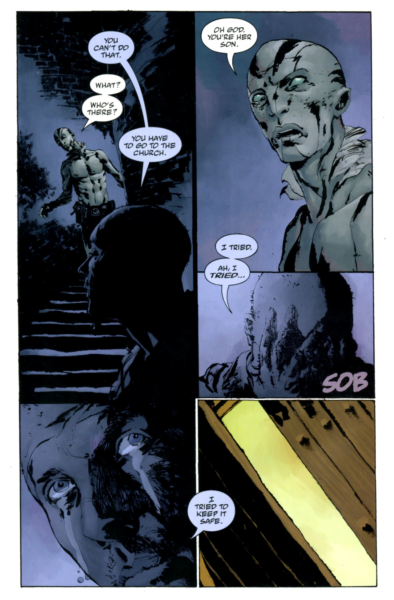 Read online Abe Sapien: The Drowning comic -  Issue #4 - 25