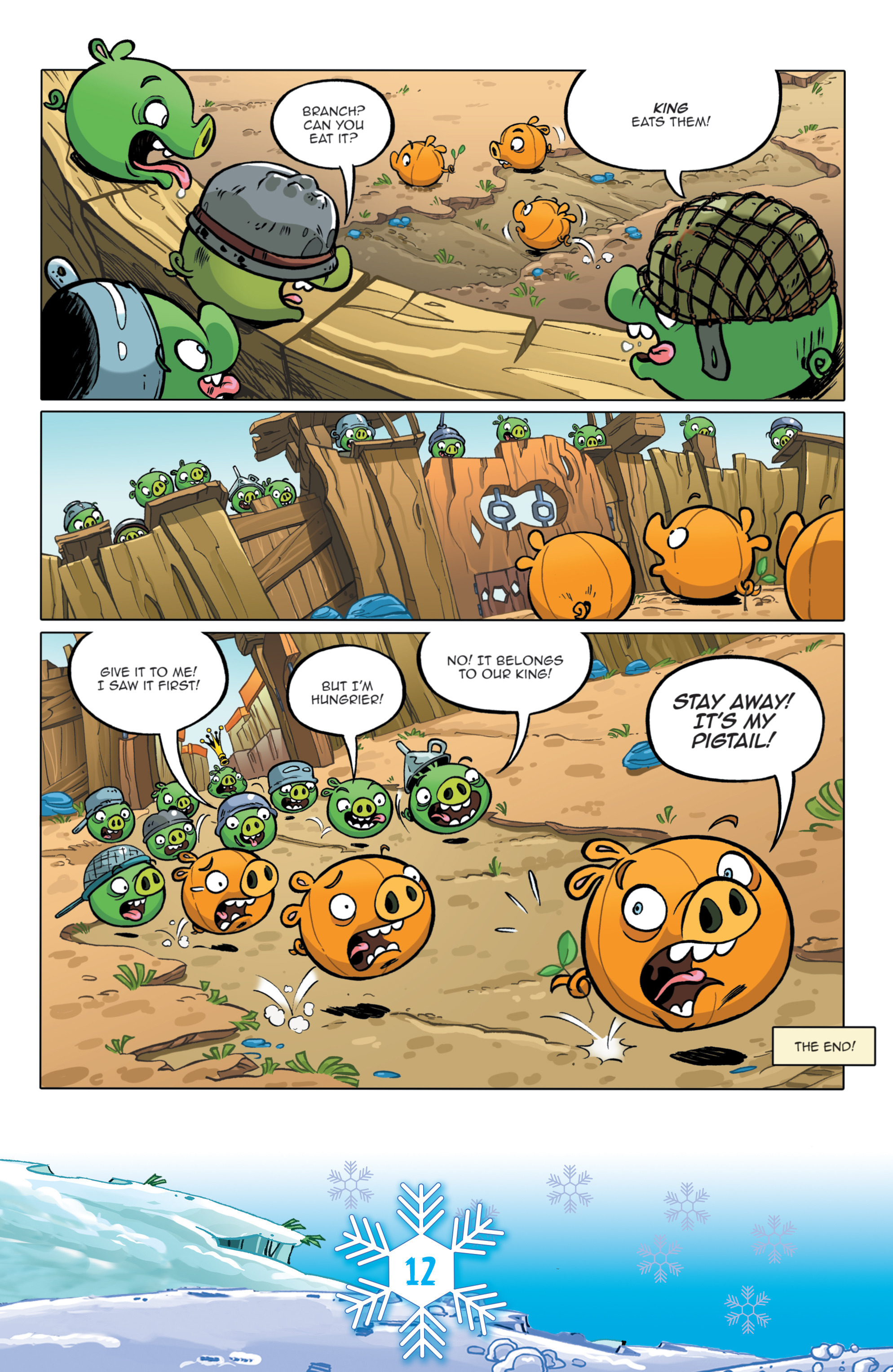 Read online Angry Birds Comics (2016) comic -  Issue #12 - 14