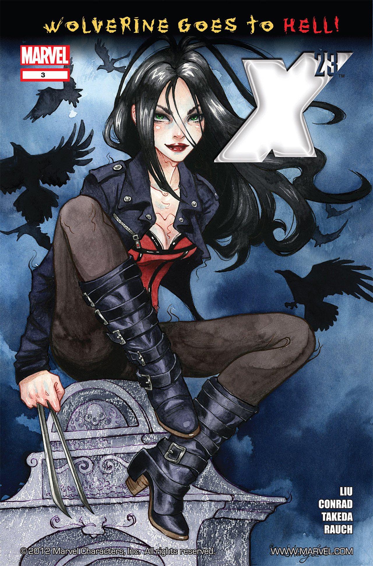 Read online X-23 (2010) comic -  Issue #3 - 1