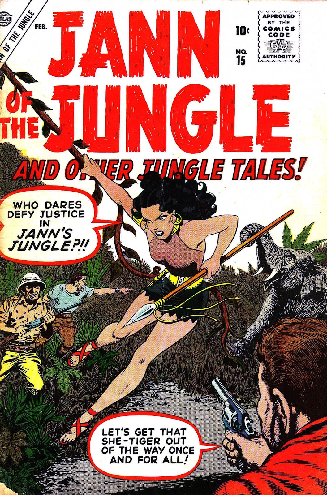Jann of the Jungle issue 15 - Page 1