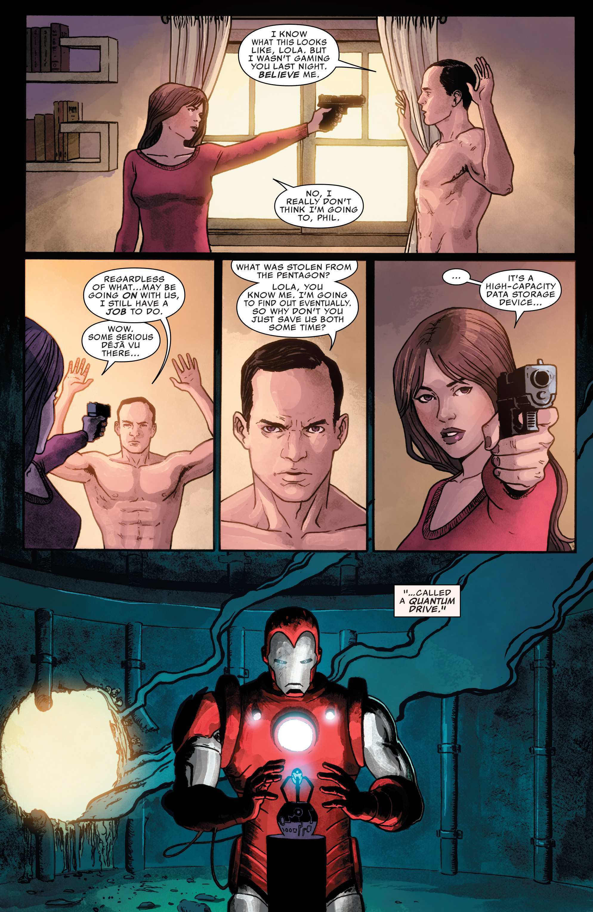 Read online Agents of S.H.I.E.L.D. comic -  Issue #1 - 20