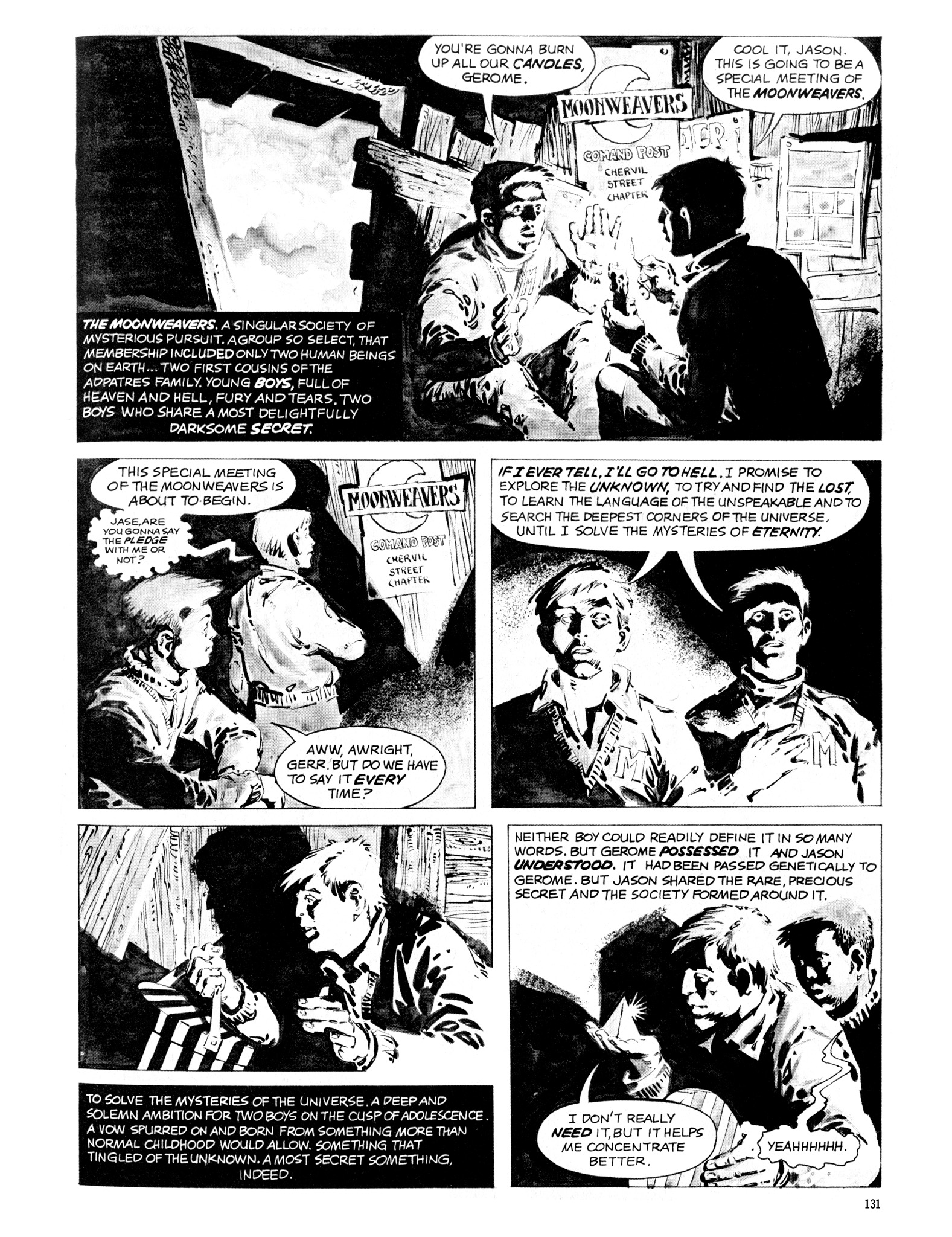 Read online Eerie Archives comic -  Issue # TPB 16 - 132