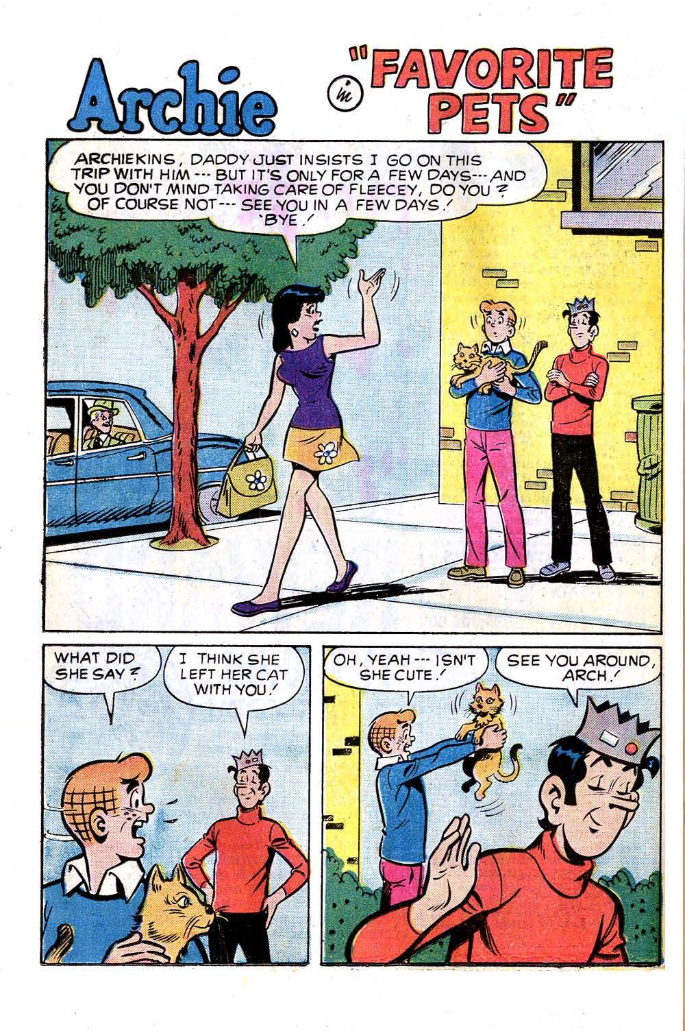 Read online Archie (1960) comic -  Issue #256 - 20