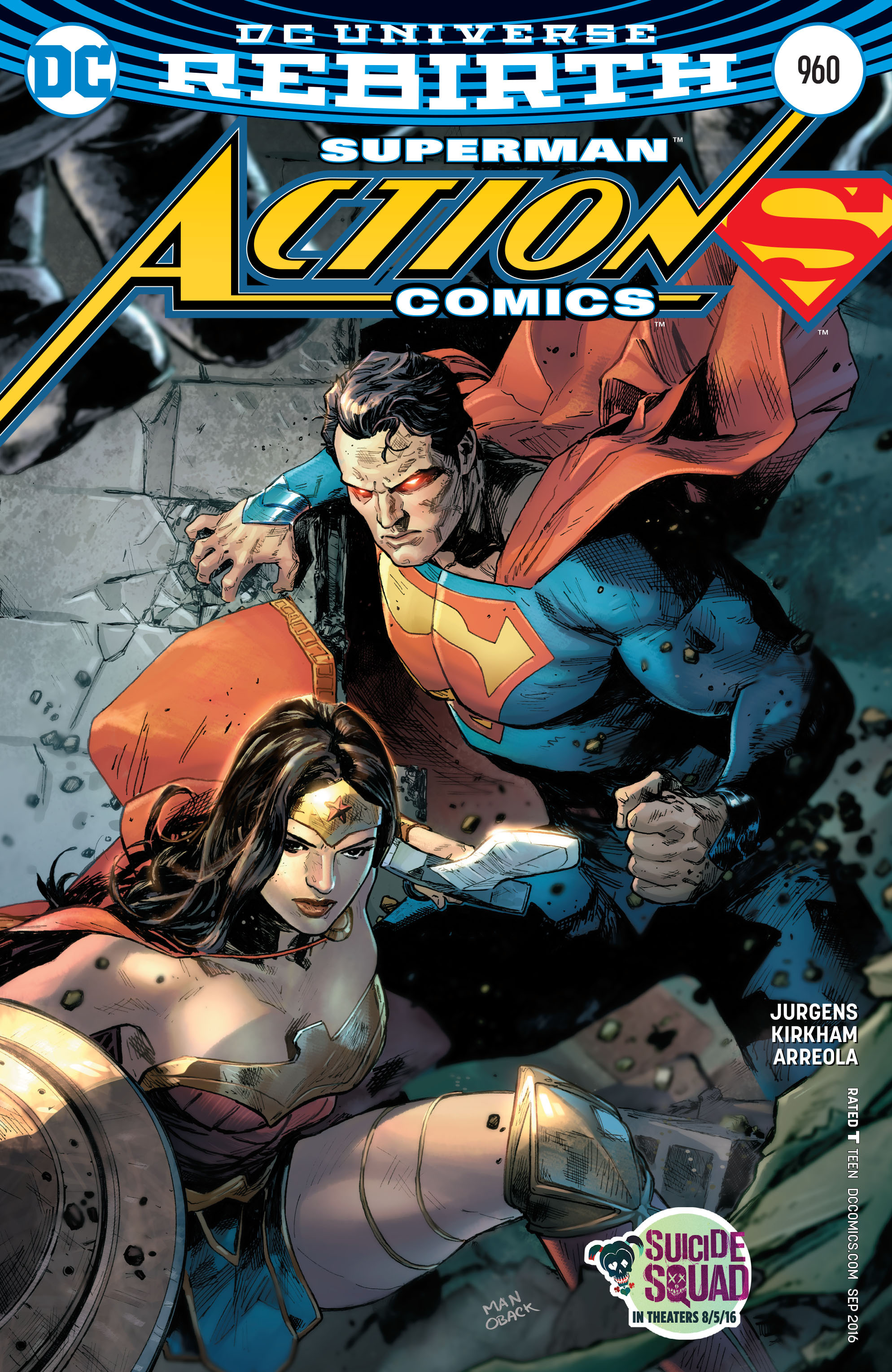 Read online Action Comics (2016) comic -  Issue #960 - 1