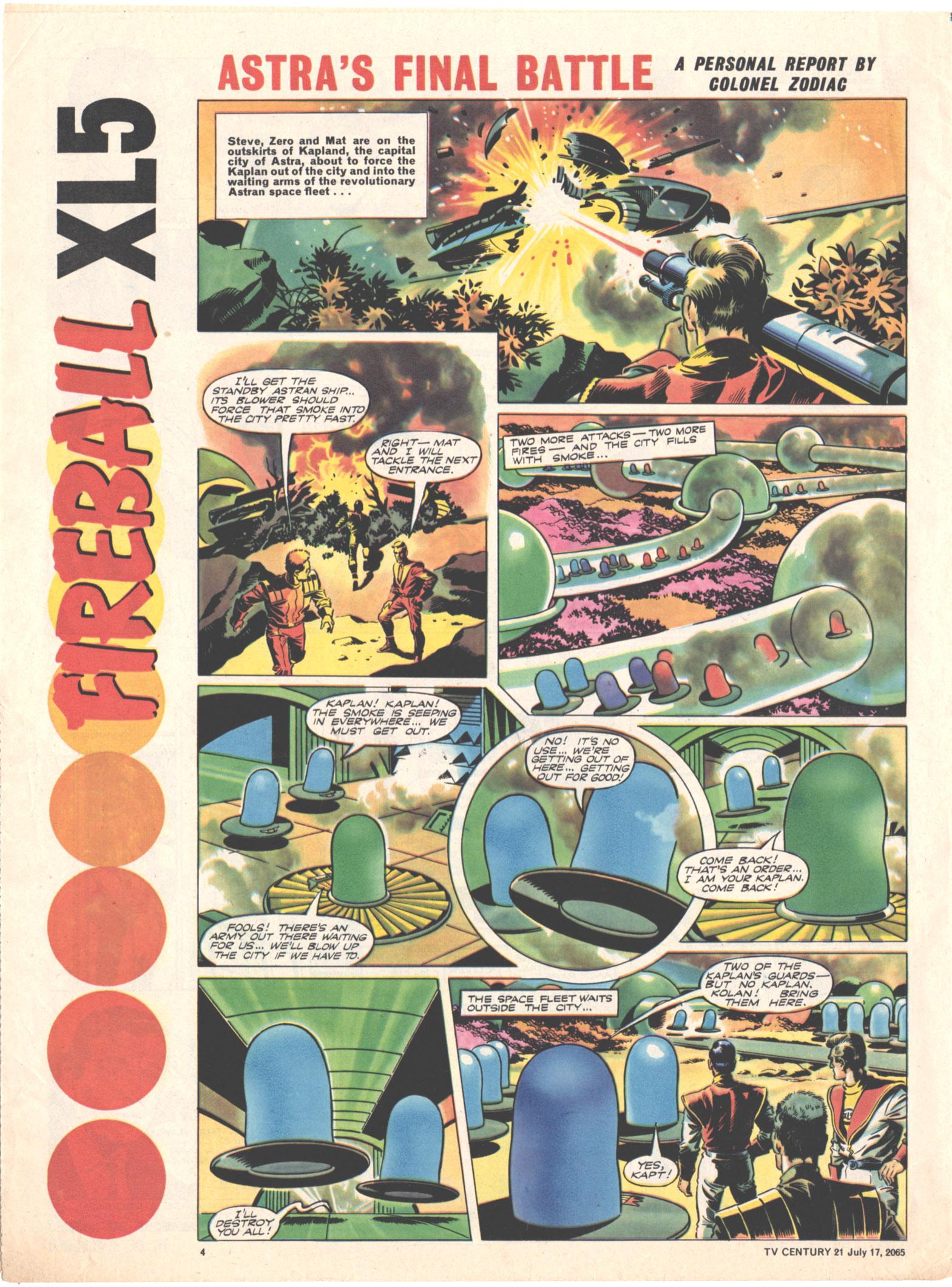 Read online TV Century 21 (TV 21) comic -  Issue #26 - 4